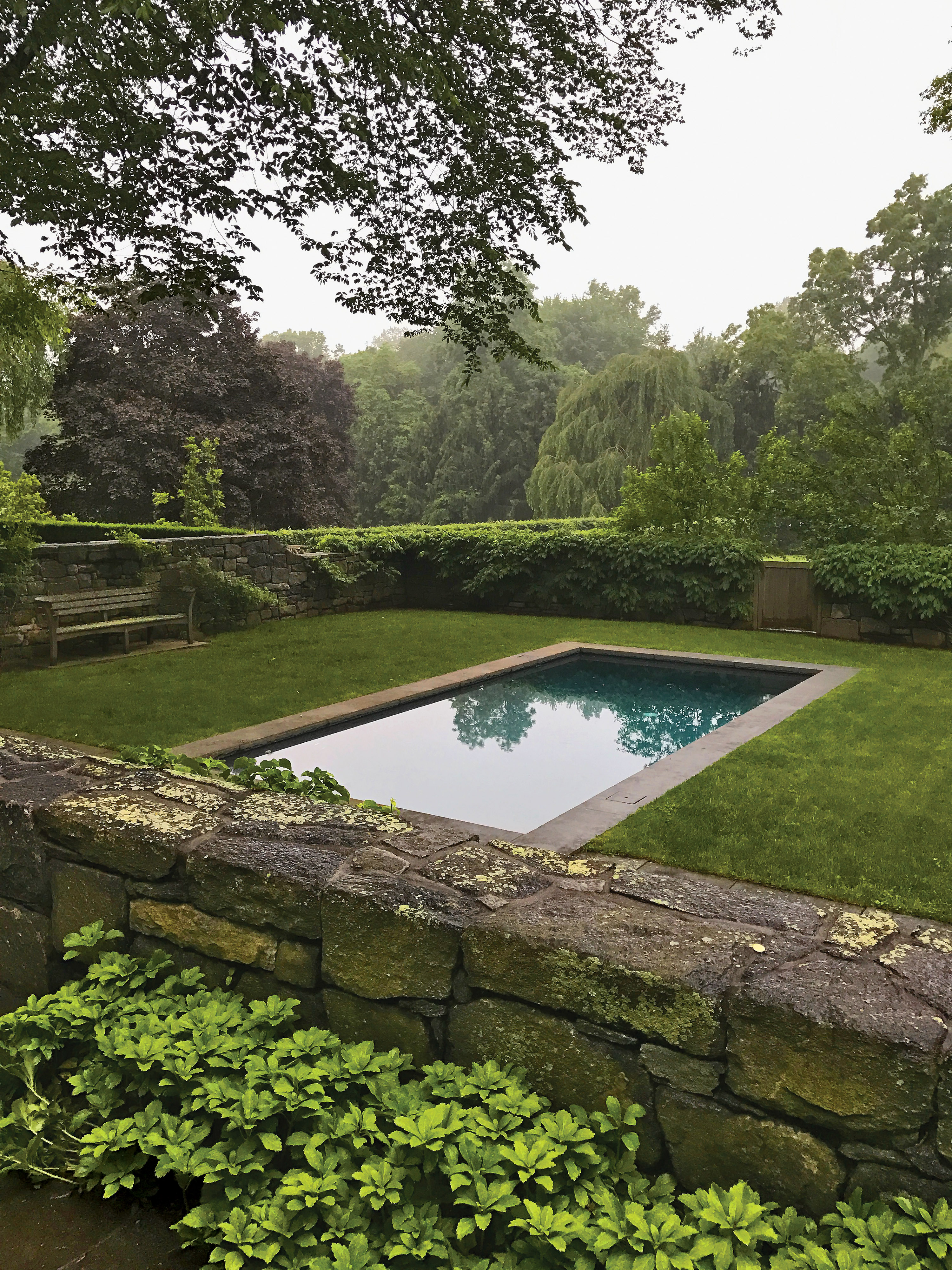 period home swimming pool