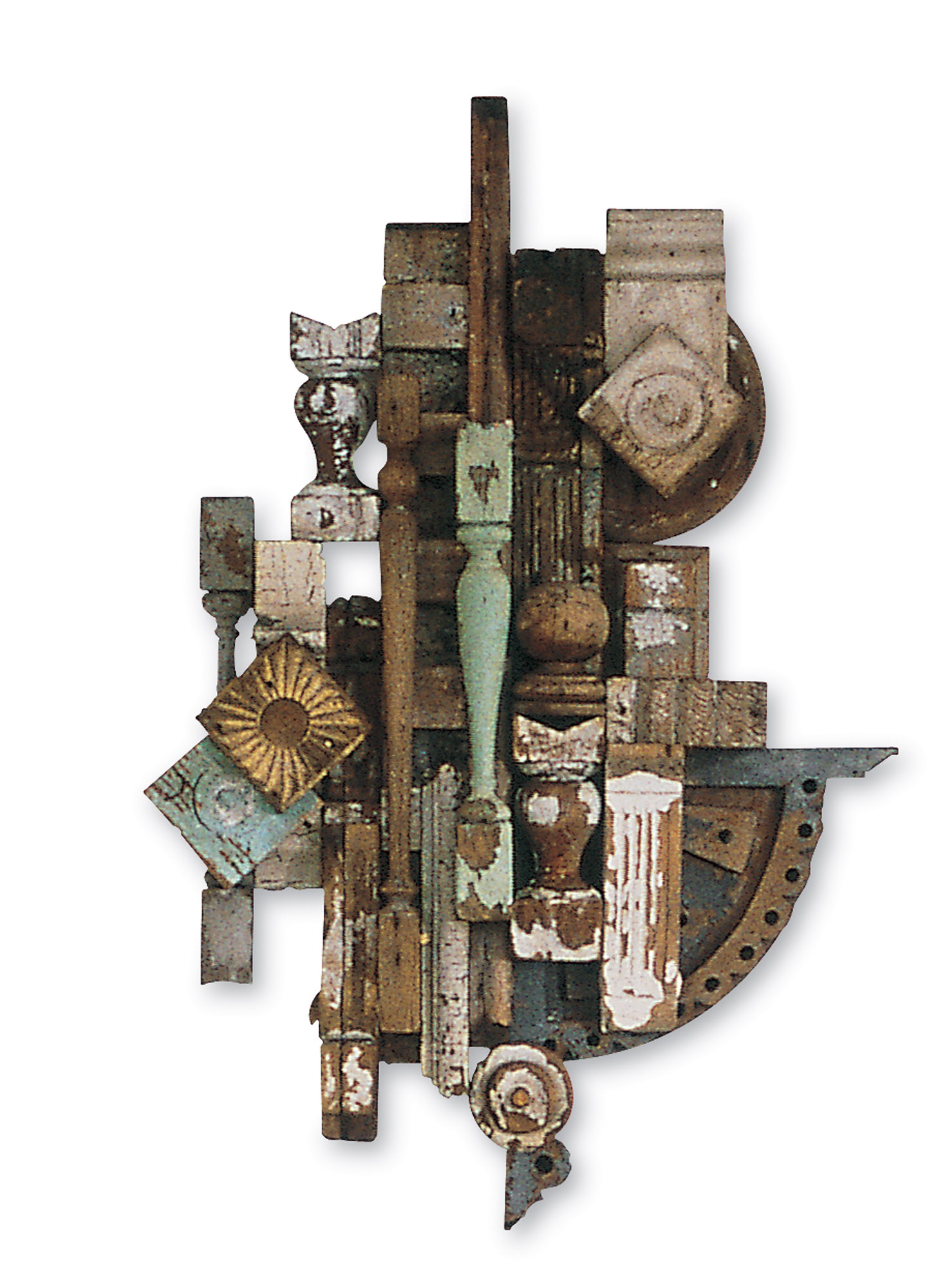 architectural salvage collage