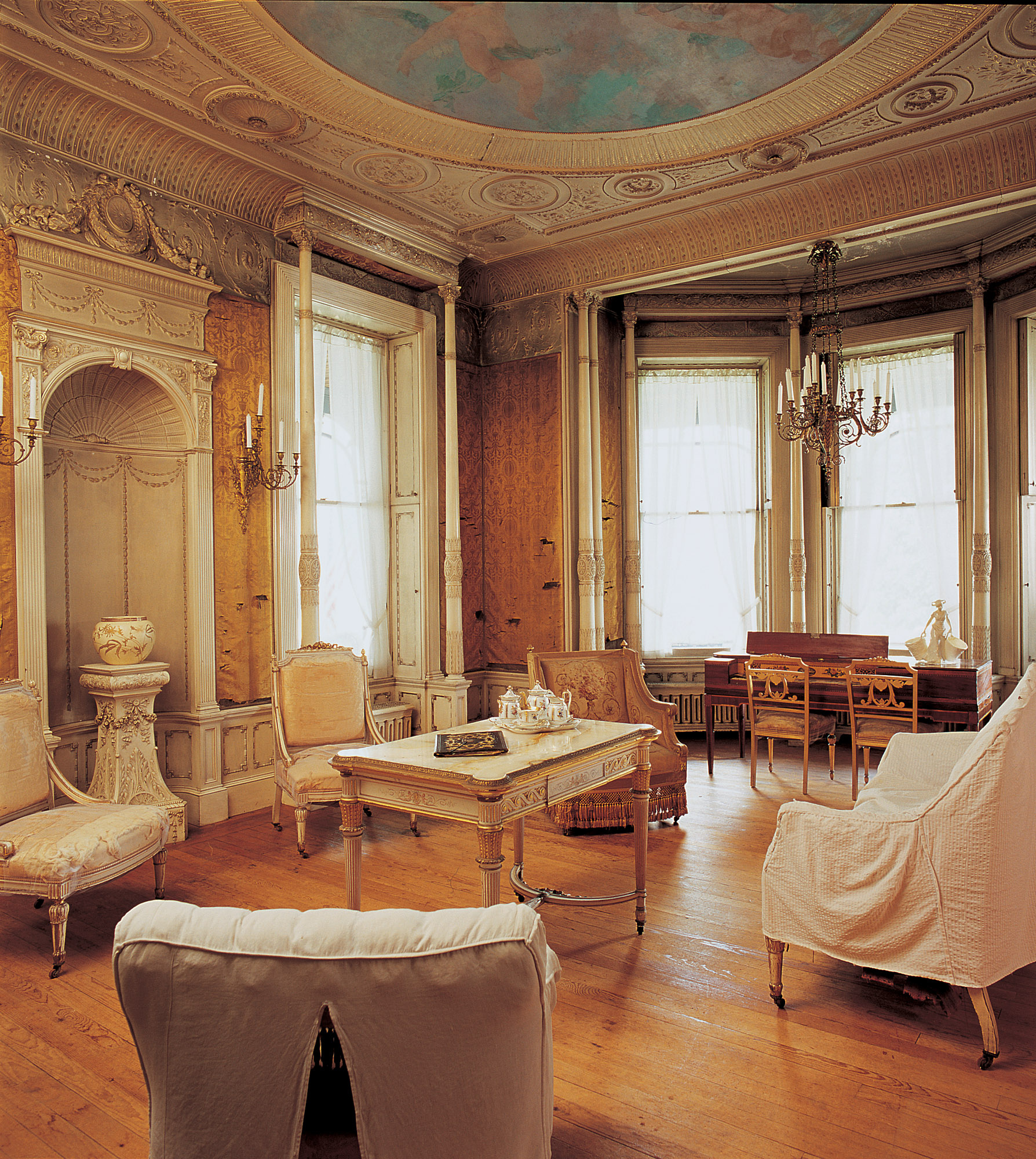 Louis XVI drawing room