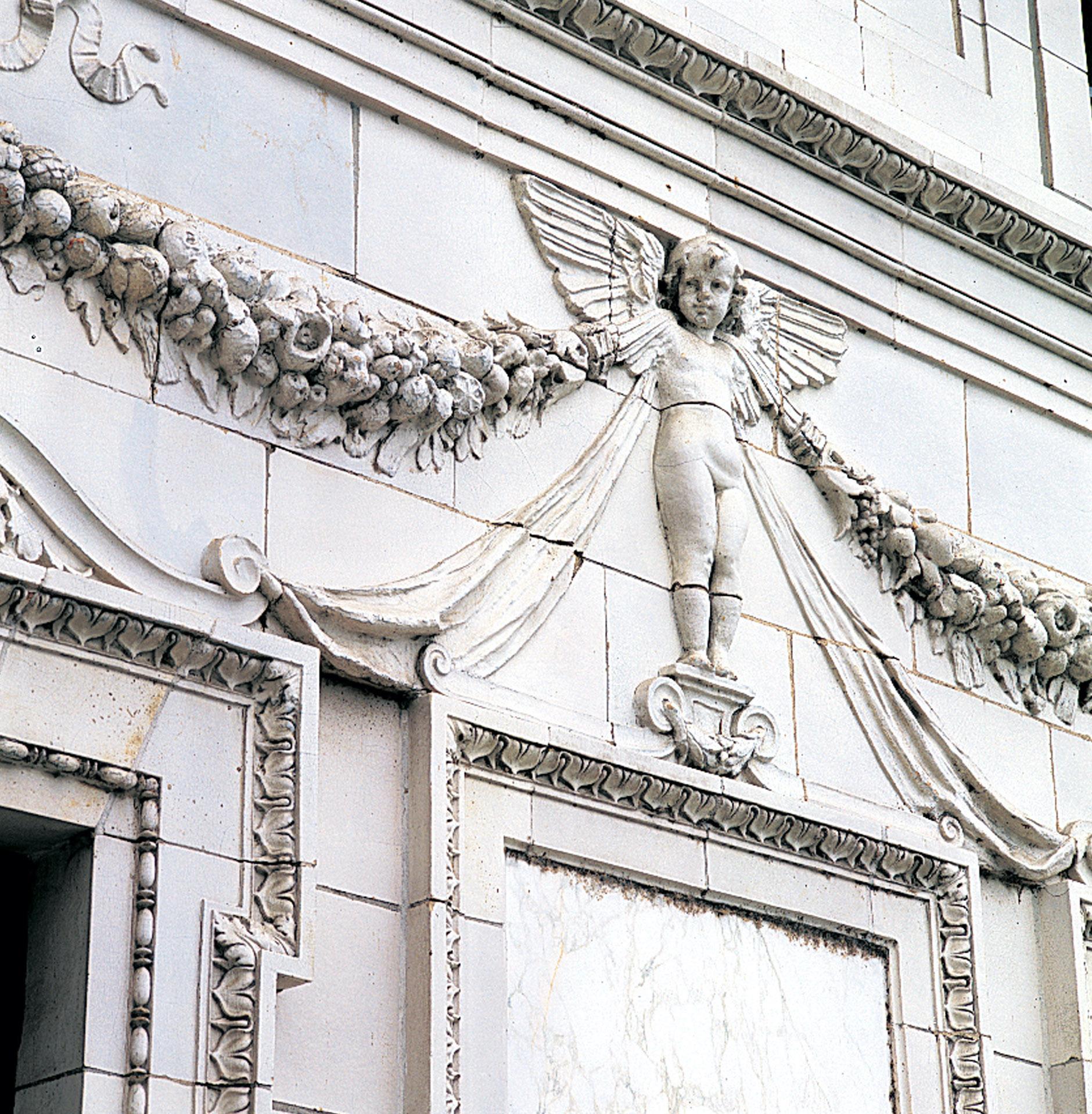 Detail at the 1903 Patterson Mansion,  Washington, D.C.