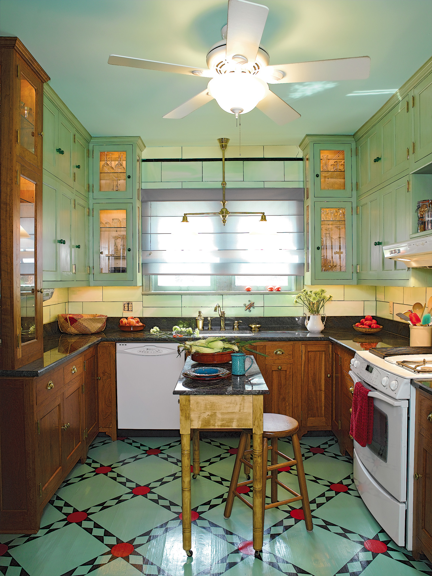 Traditional Painted Floors Old House Restoration