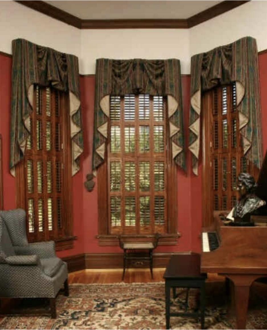 Americana wood shutters