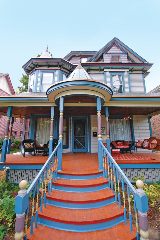 The Queen Anne: Victorian Architecture and Décor