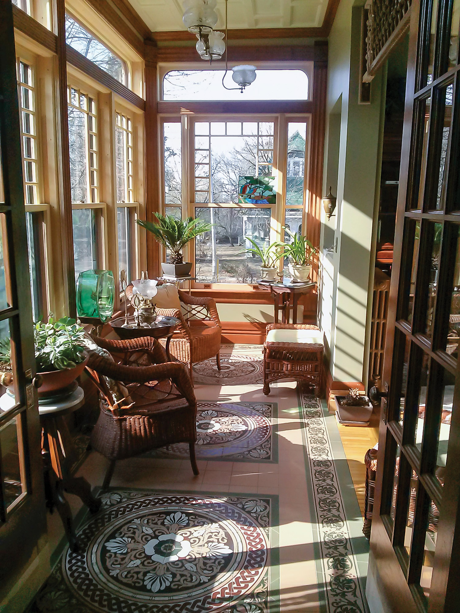 old-house conservatory