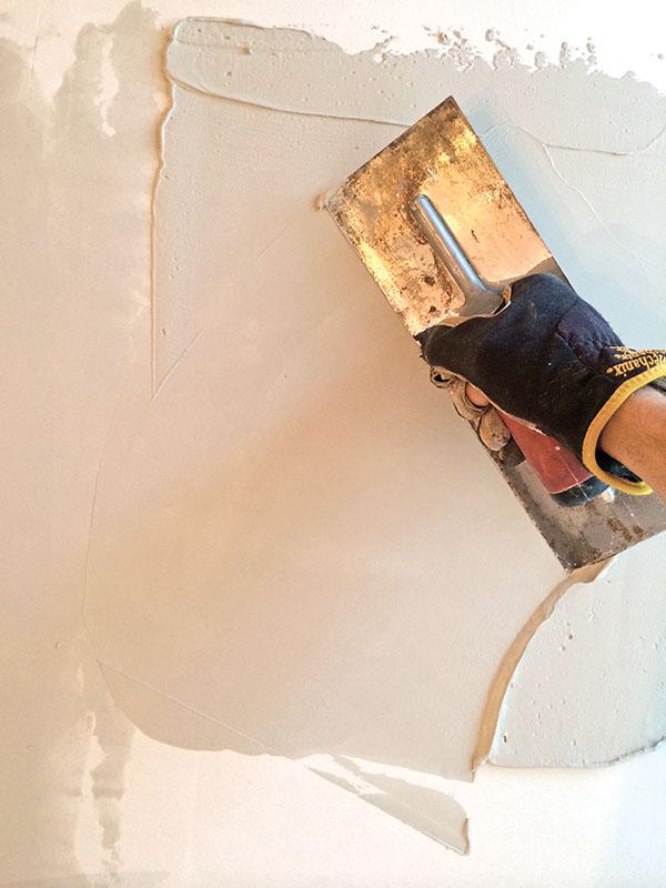 Repairing Historic Flat Plaster Walls and Ceilings