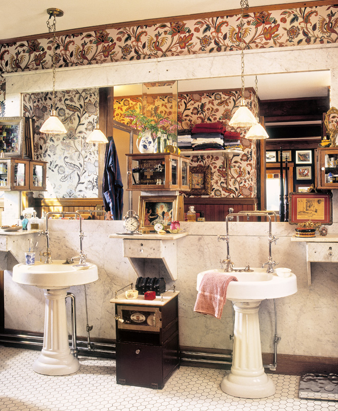 barbershop bathroom
