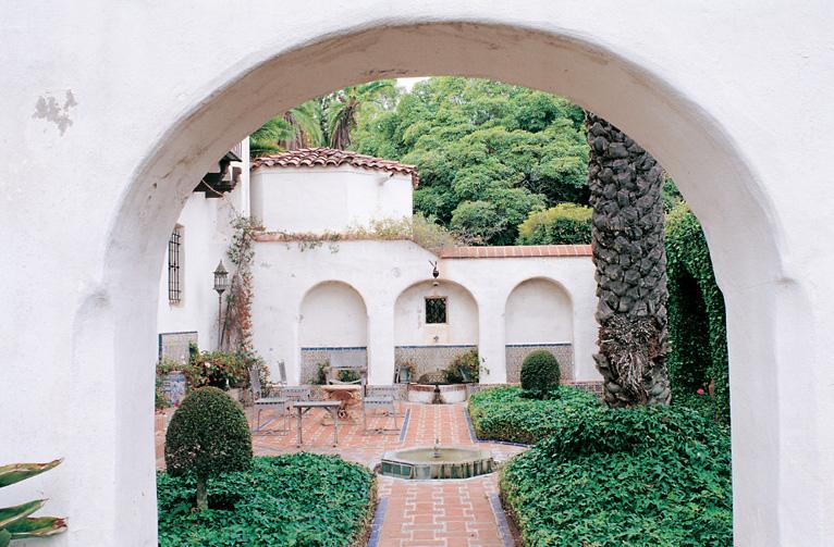 Casa del Herrero (1925) is a Spanish-style vision, complete with a Moorish garden.