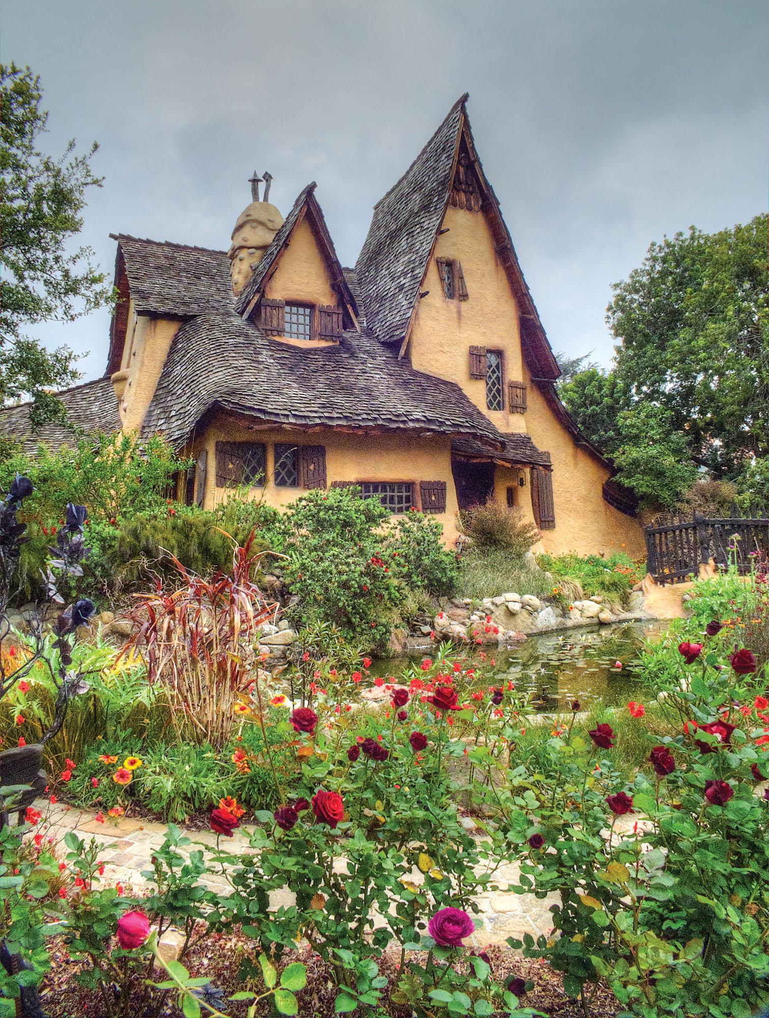 Fairy House Roof