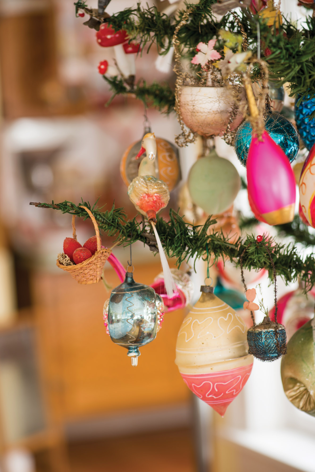 Celebrating the Holidays with Antique Ornaments