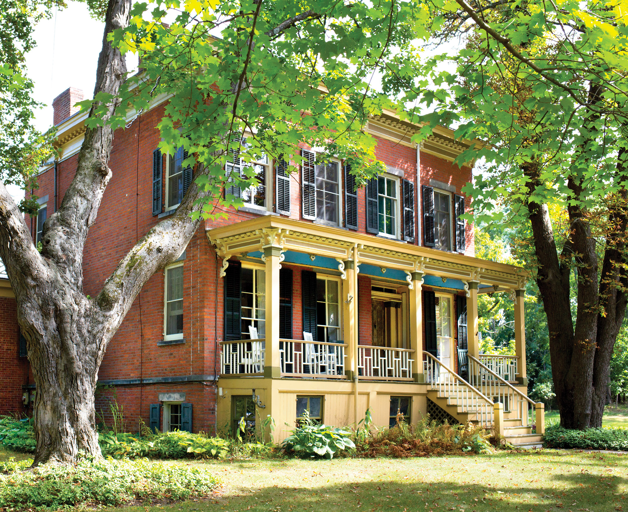 Schoolfield: An Eccentric Italianate House