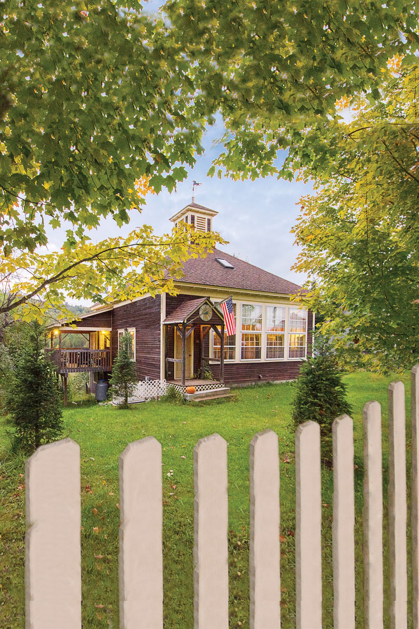 schoolhouse converted to home