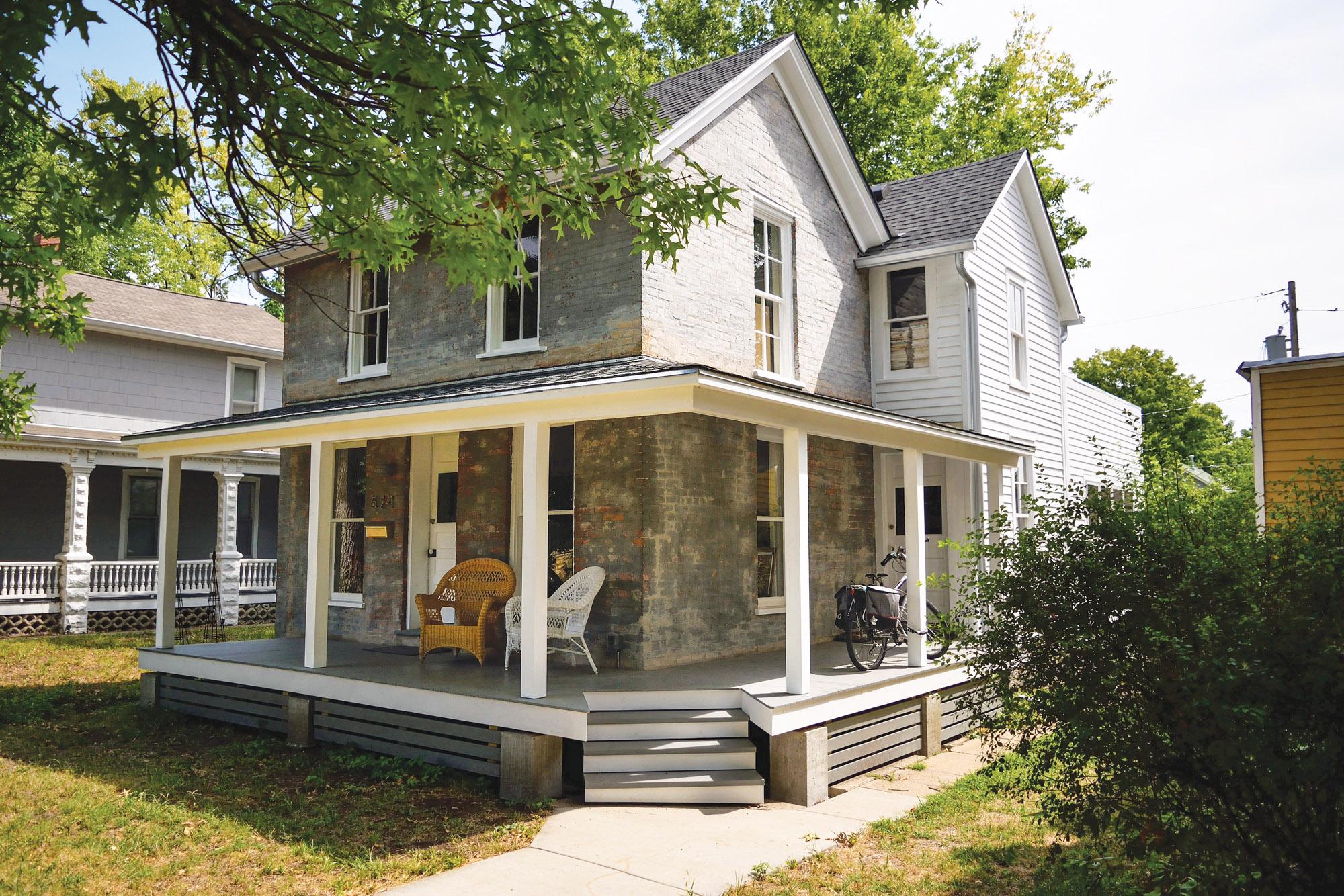 post civil-war house