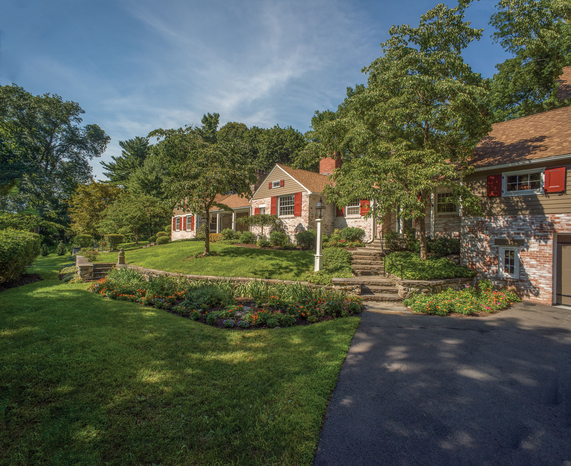 A Renovated Colonial Built From Architectural Salvage