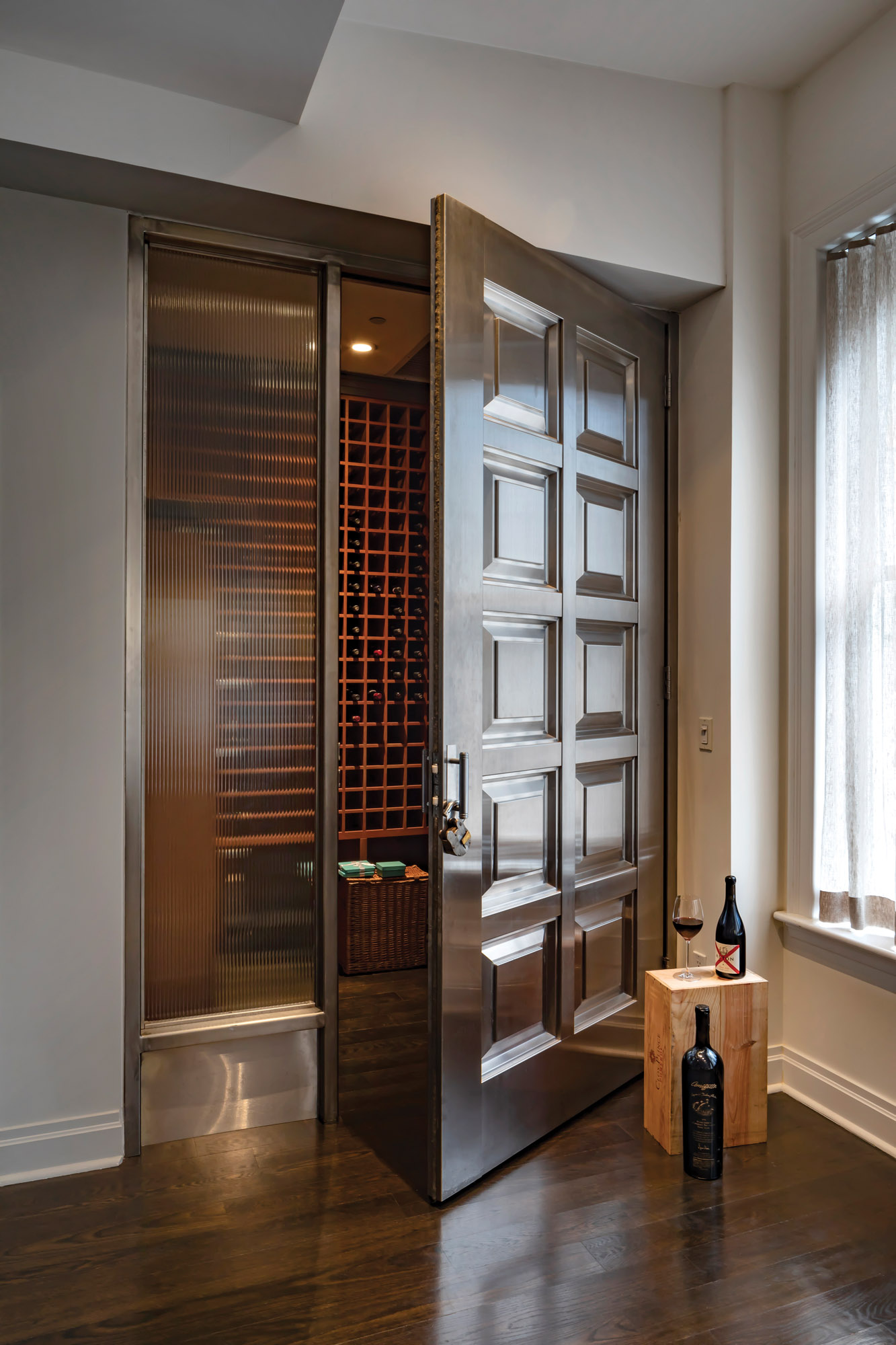 DIY wine room