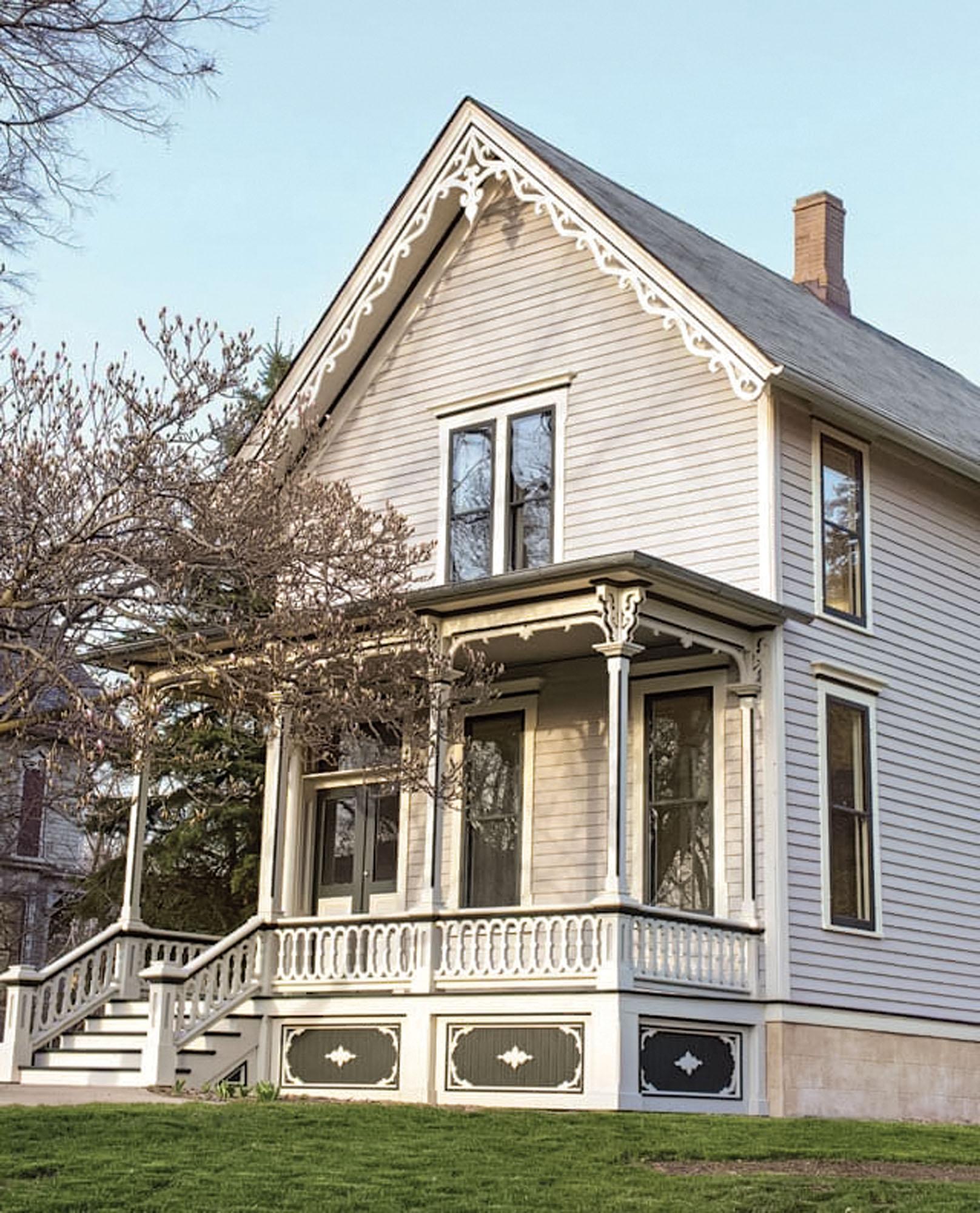 restored Italianate home