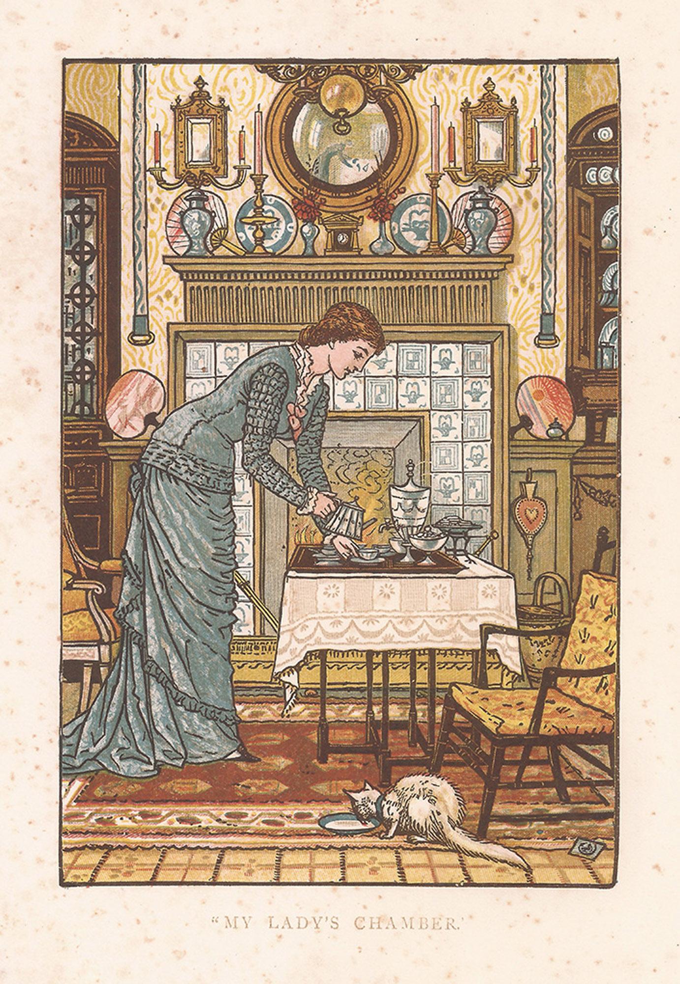 House Beautiful trading card