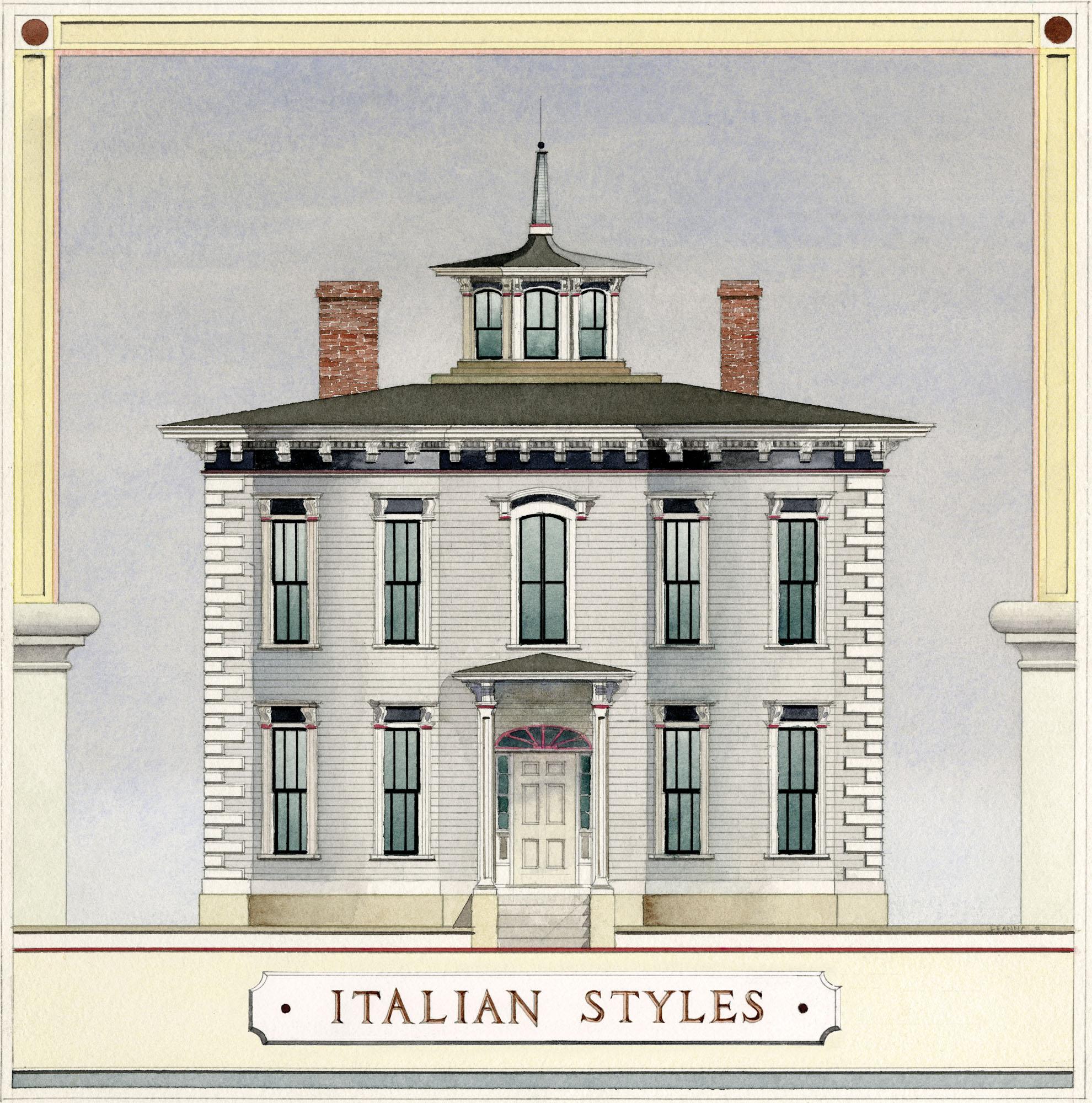 Italian House styles