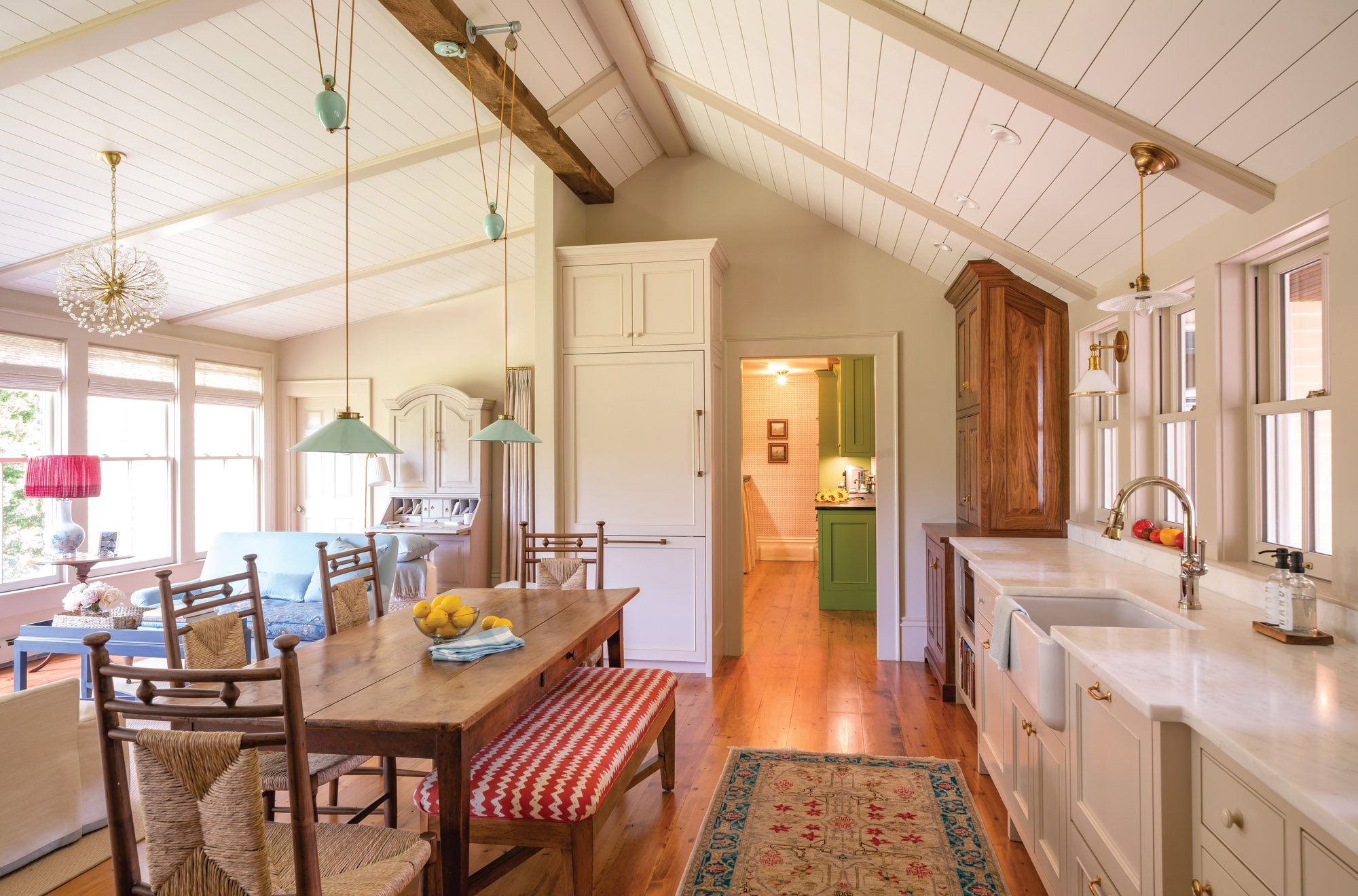 farmhouse kitchen restoration