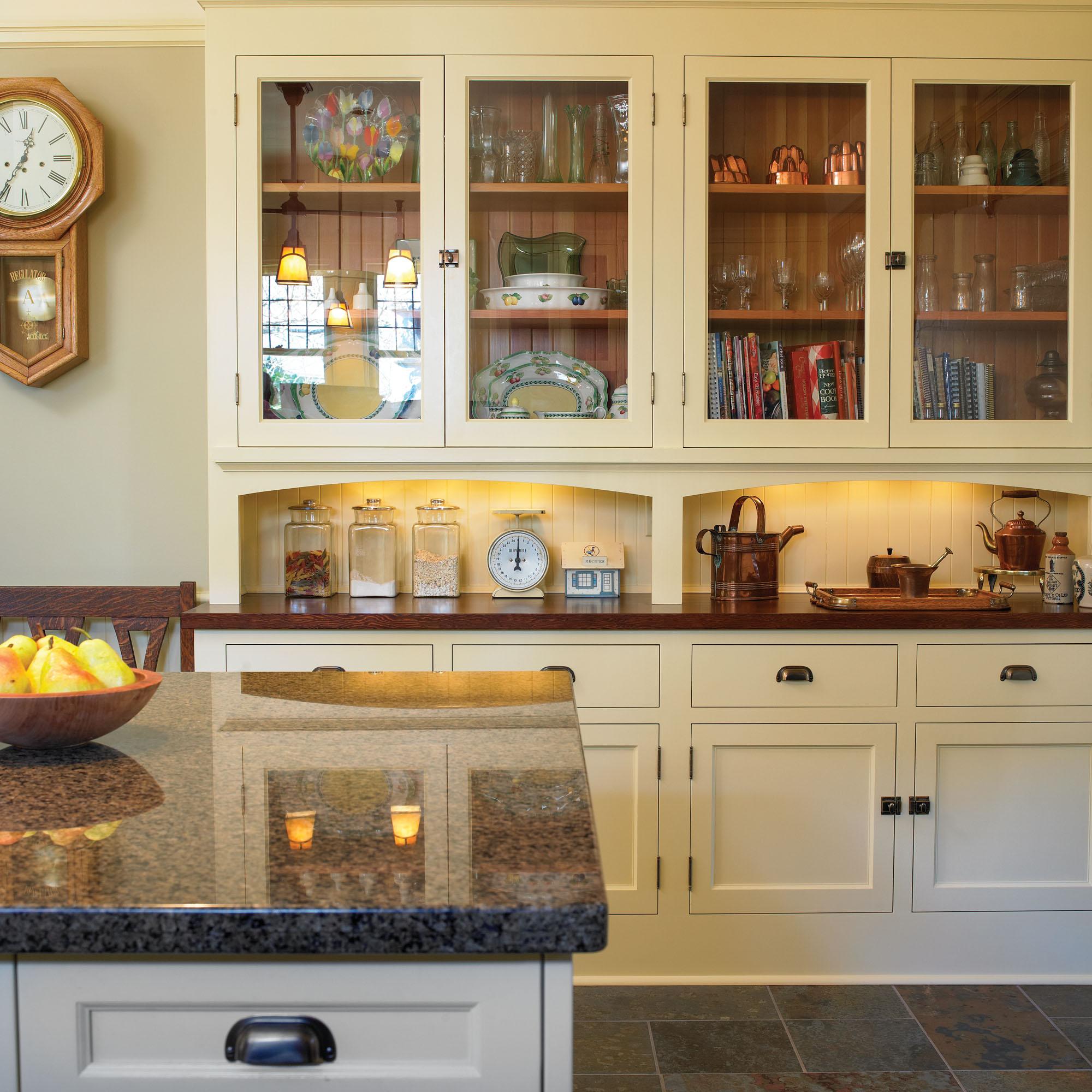 An English Arts Crafts Kitchen Old