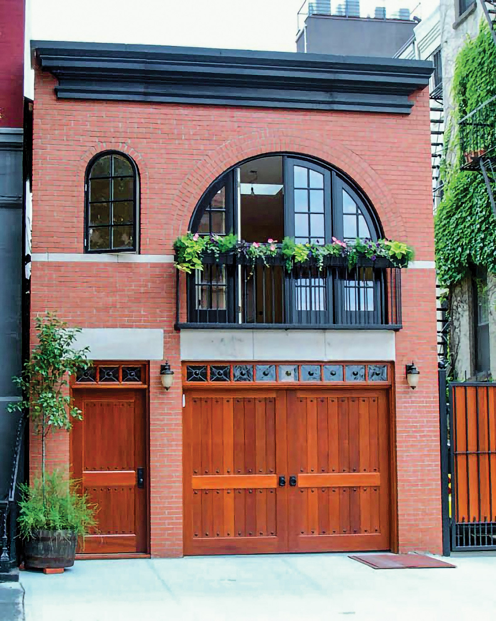 Clingerman carriage house garage doors