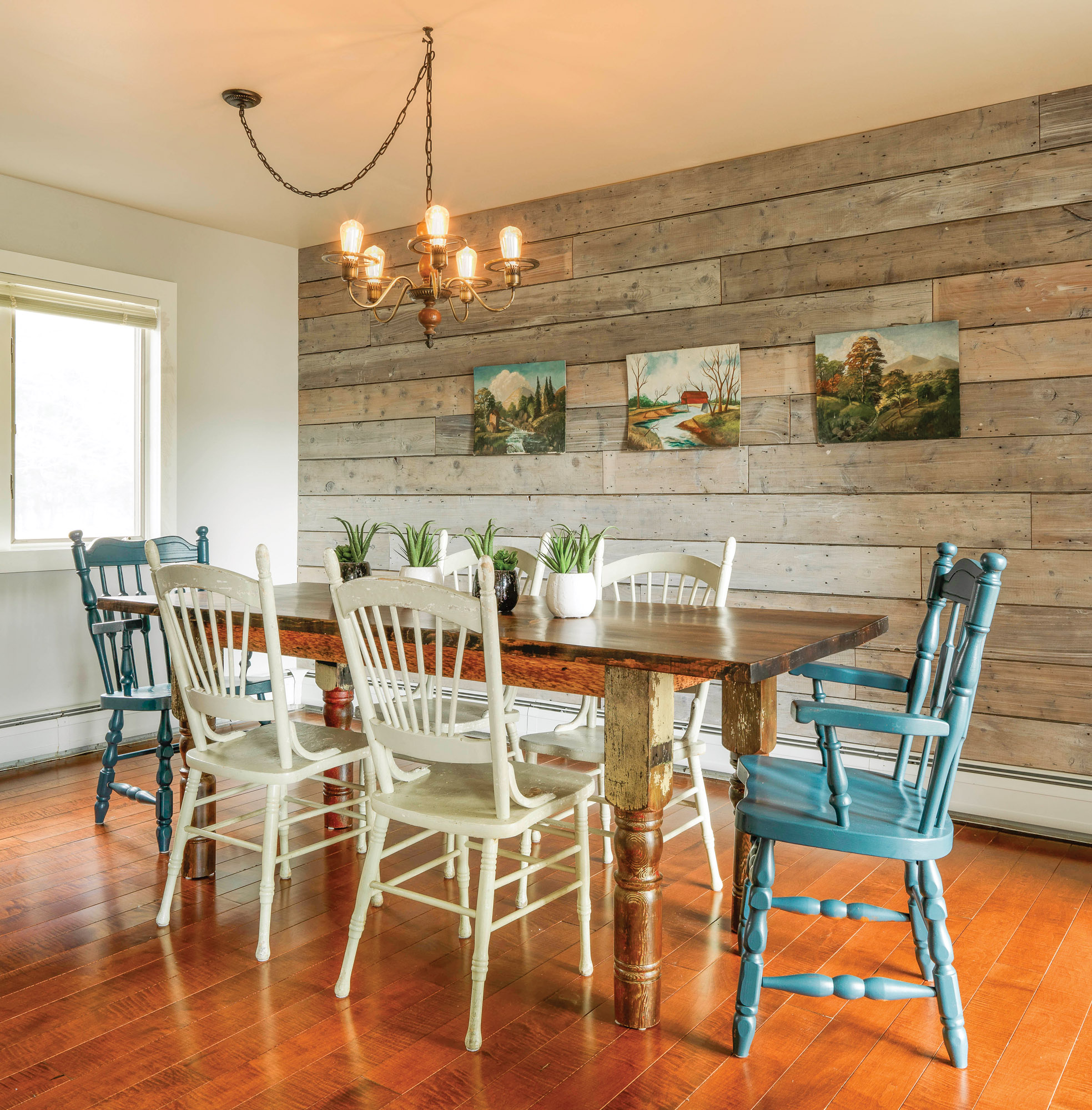 Diy Reclaimed Wood Wall Old House Journal Magazine