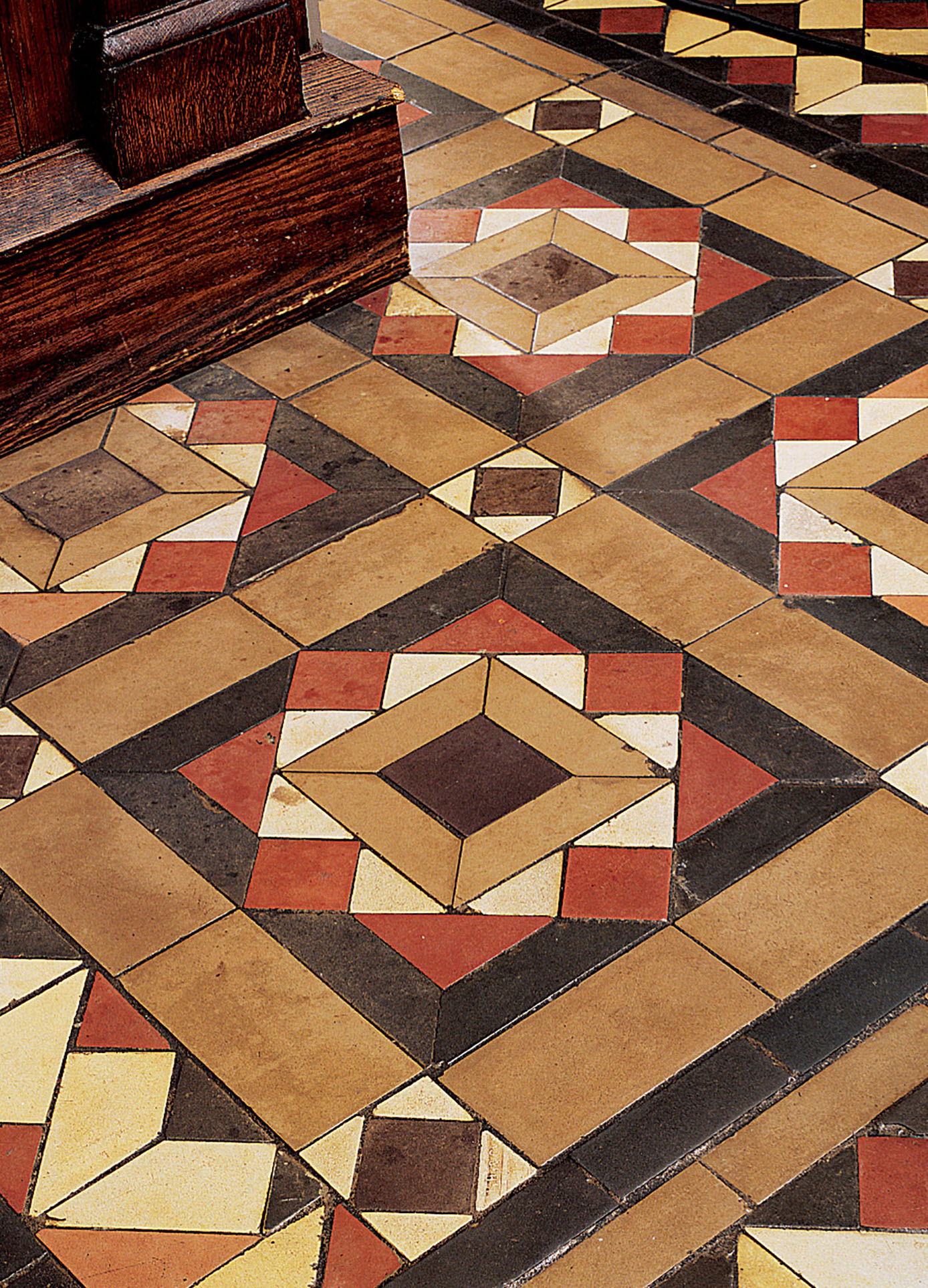 preserving floor tile