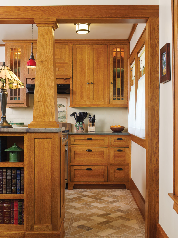 bungalow kitchen, Sears Kit bungalow