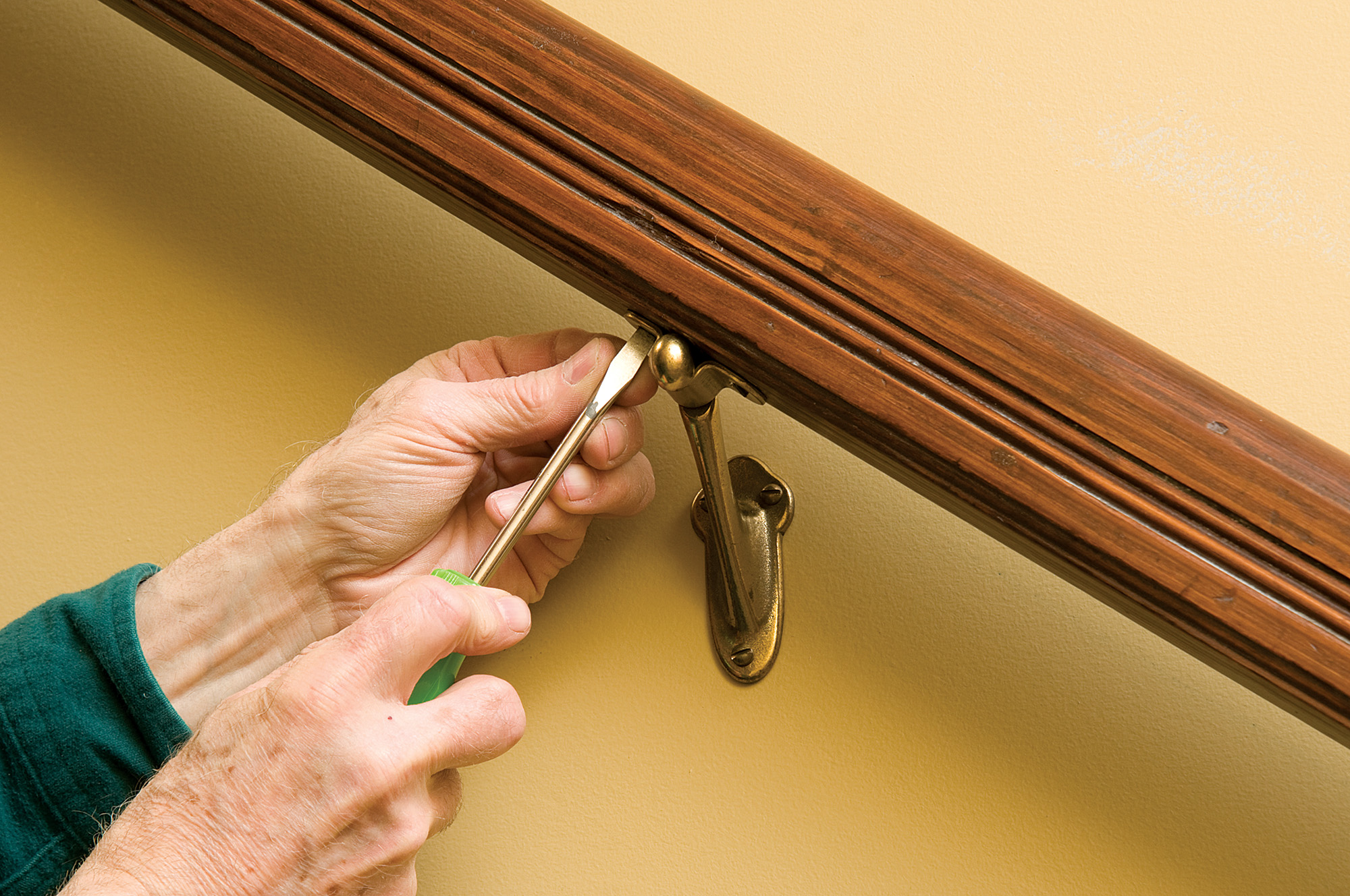 How To Hang A Stair Rail Restoration Amp Design For The