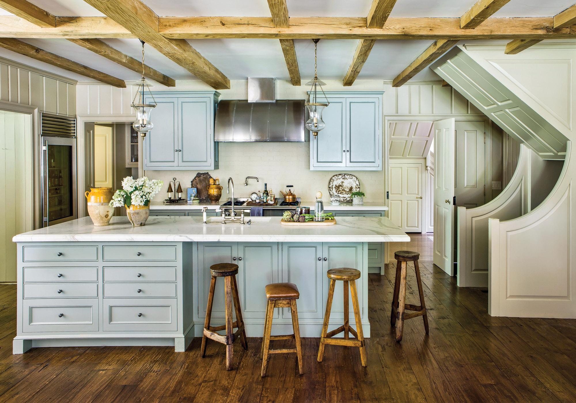 Philip Trammell Shutze house, restored 1939 kitchen