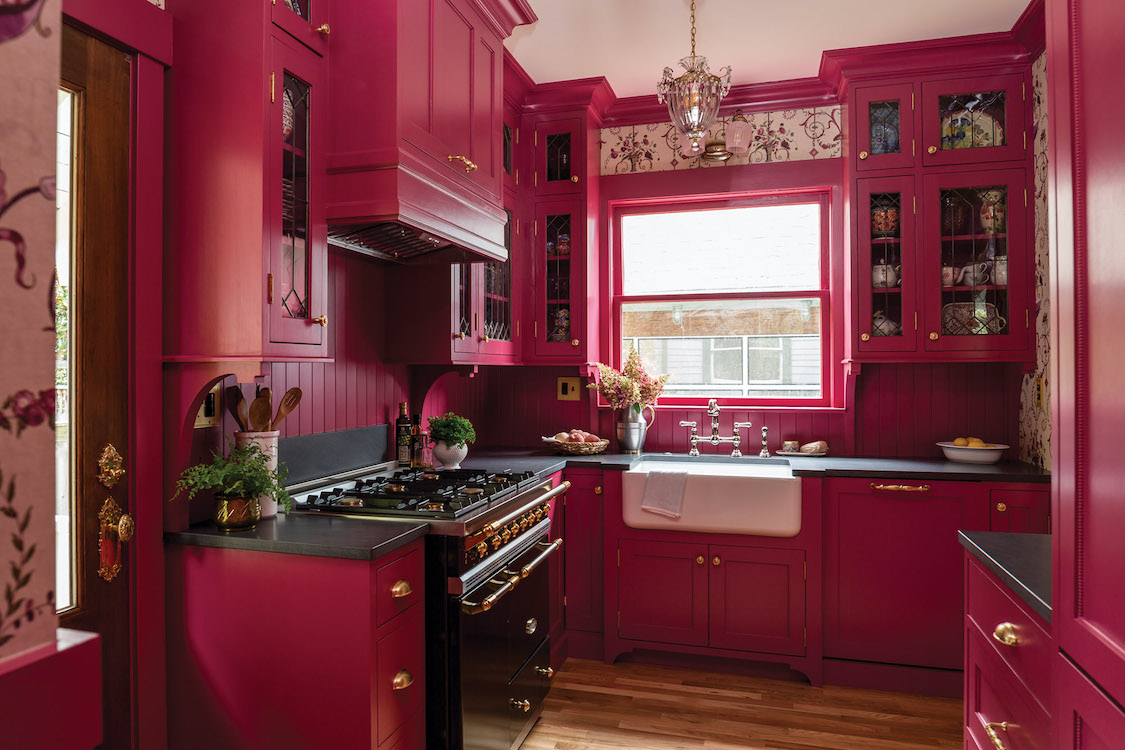 Revival Kitchen In Seattle Old House Journal Magazine