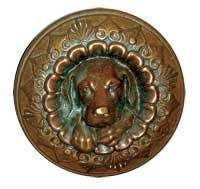 R&E's original doggie knob, which debuted in 1870, is now a highly coveted piece among collectors. (Photo: Allen Joslyn)