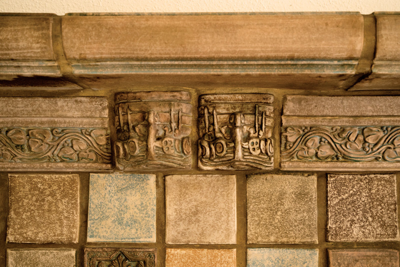 good Karla Pearlstein Part - 15: Contractor Ed Overbay enlisted Renée Ou0027Connor of Willapa Bay Tile to create  custom molds for the border. Karla Pearstein, Overbay, and Ou0027Connor  collaborated ...