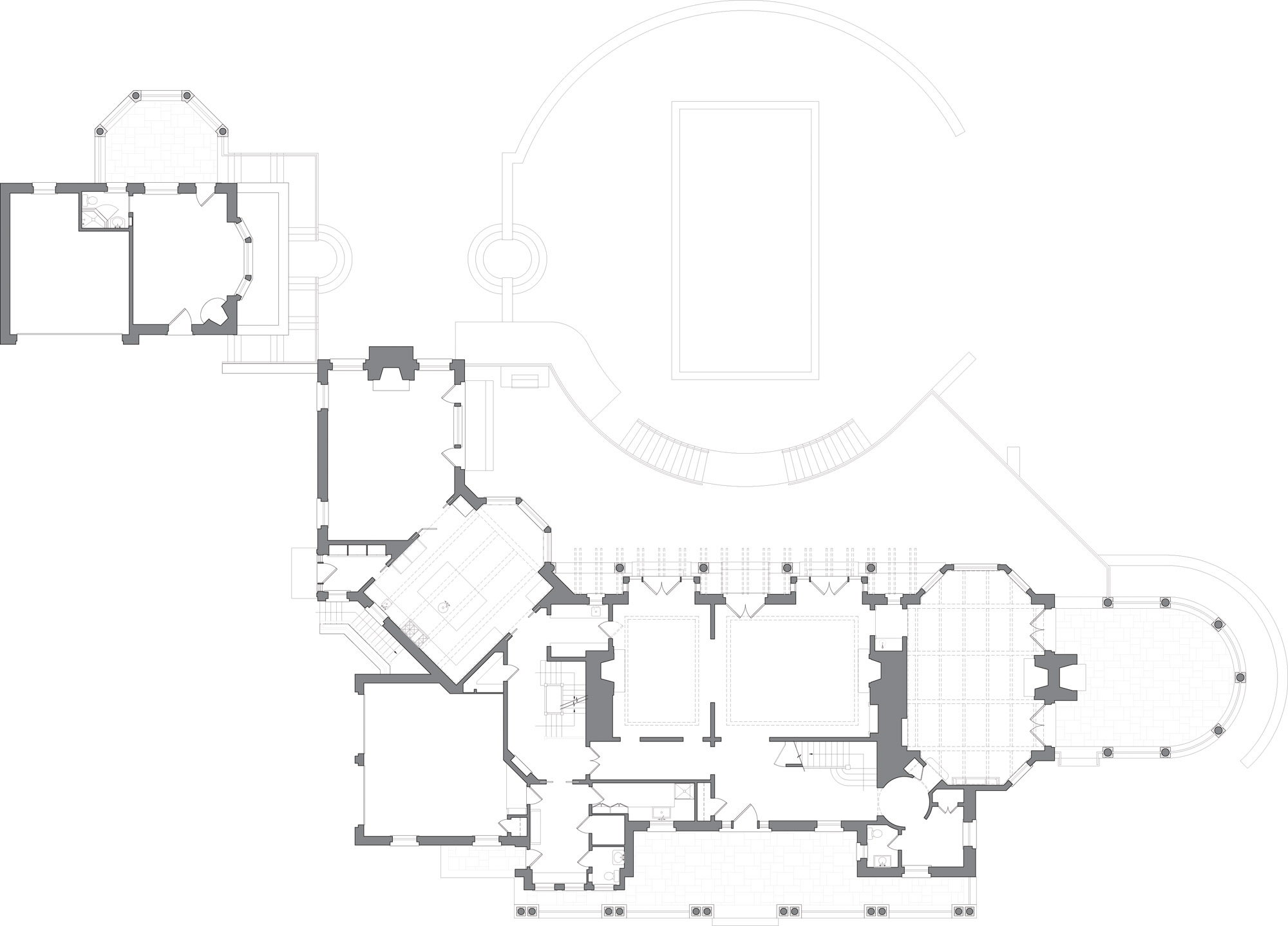 Shingle Style floor plan