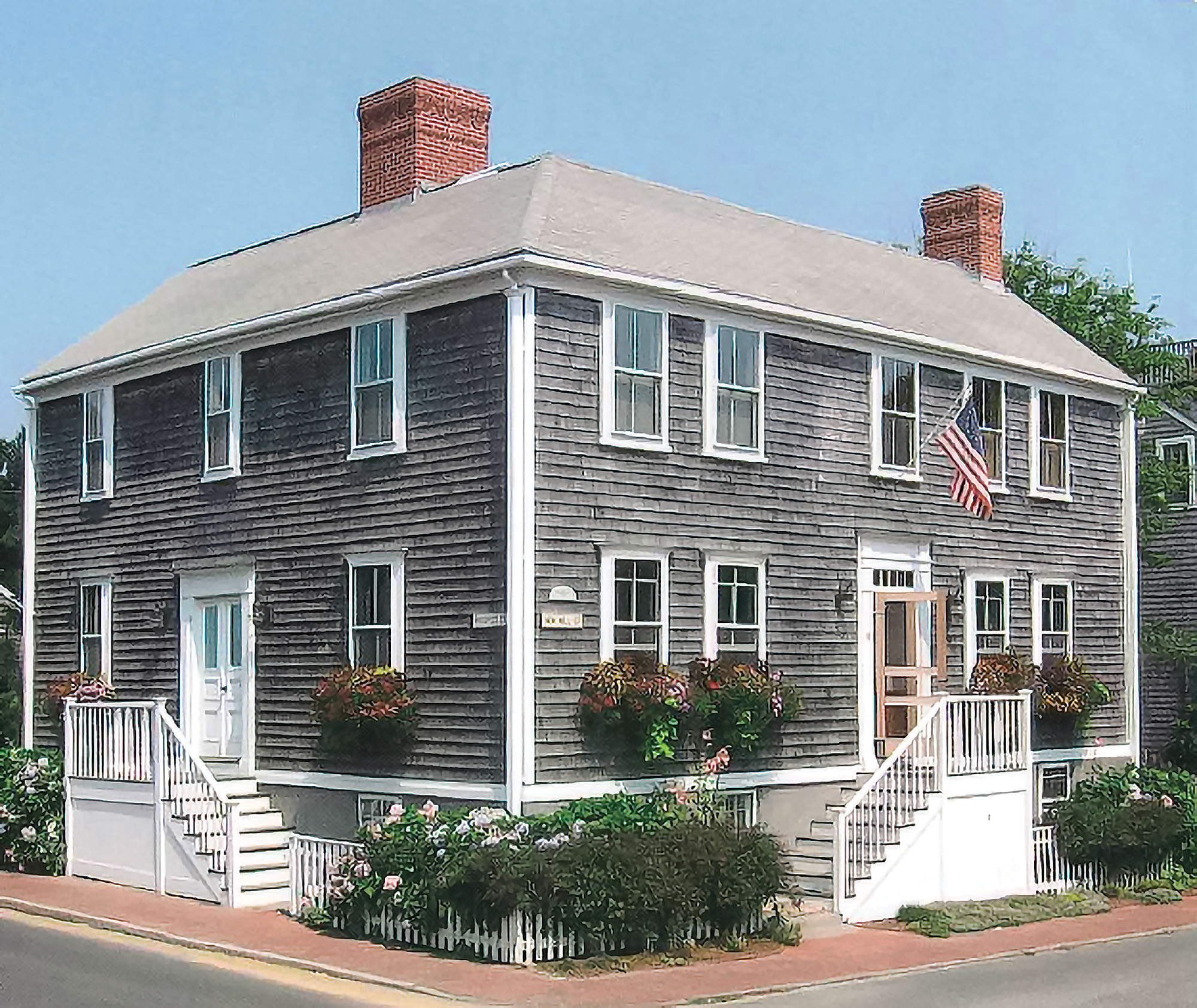 preserved 1809 Nantucket home
