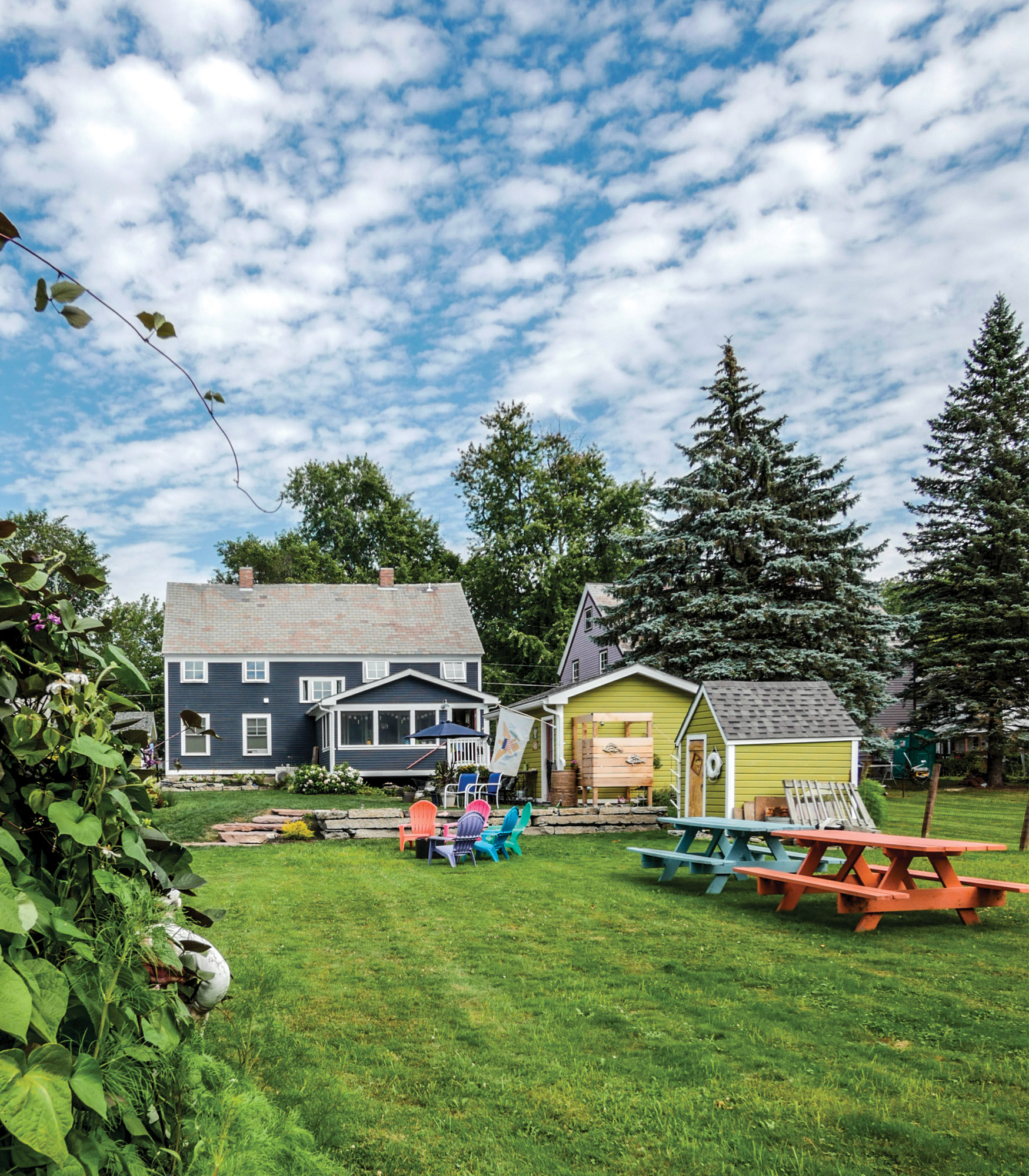 restored home in Vermont