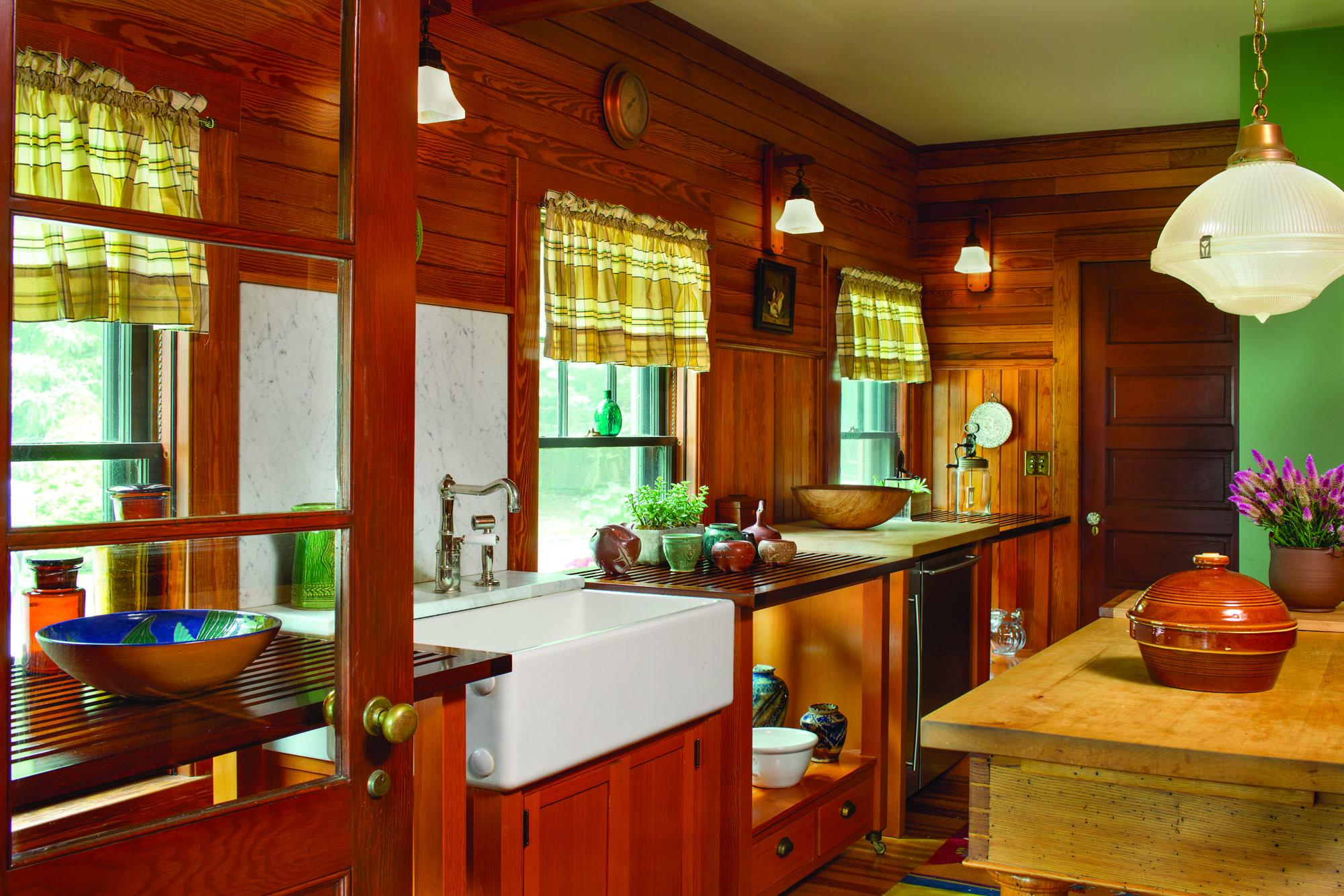 An Arts & Crafts-era Chalet-style Lodge