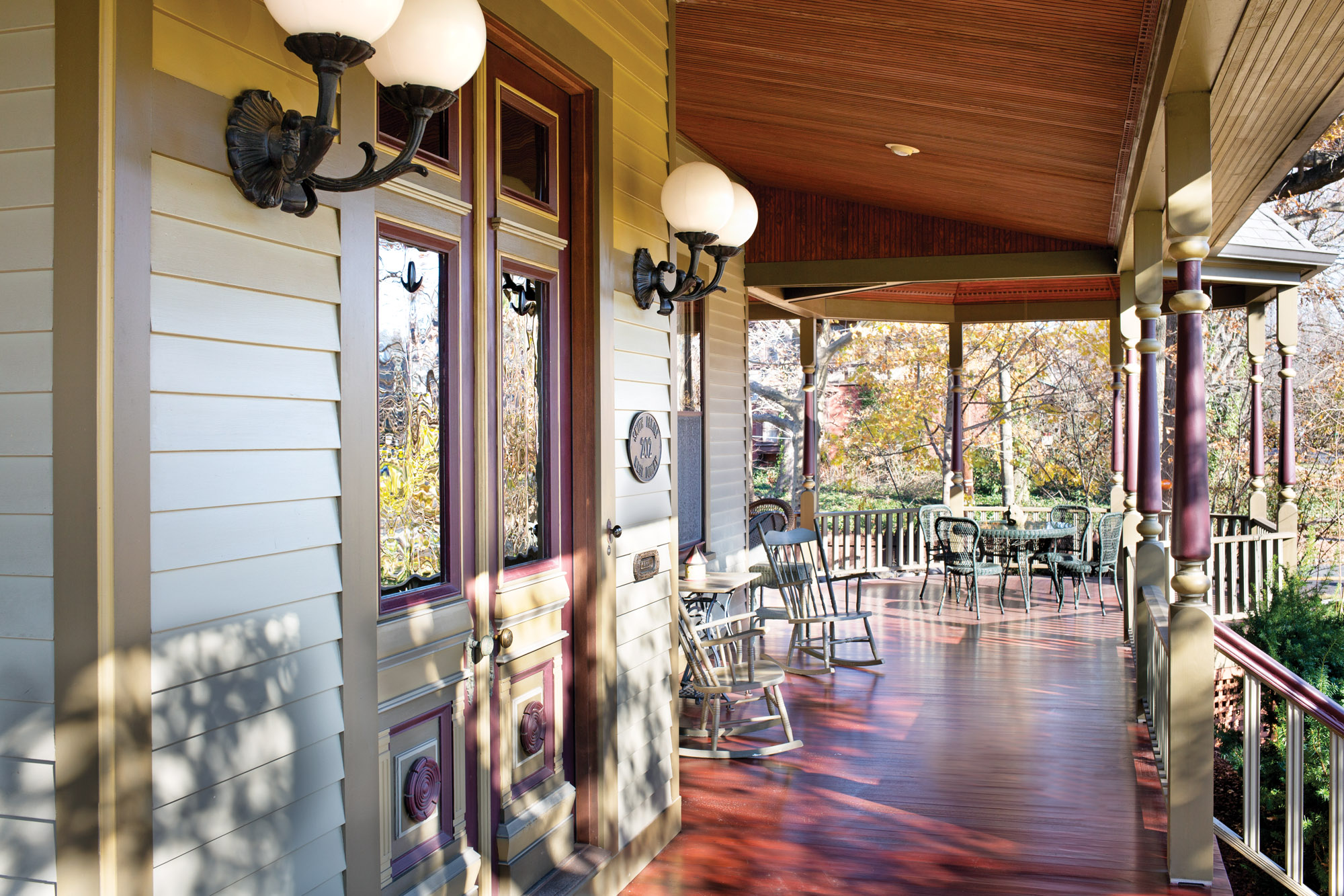 Queen Anne porch