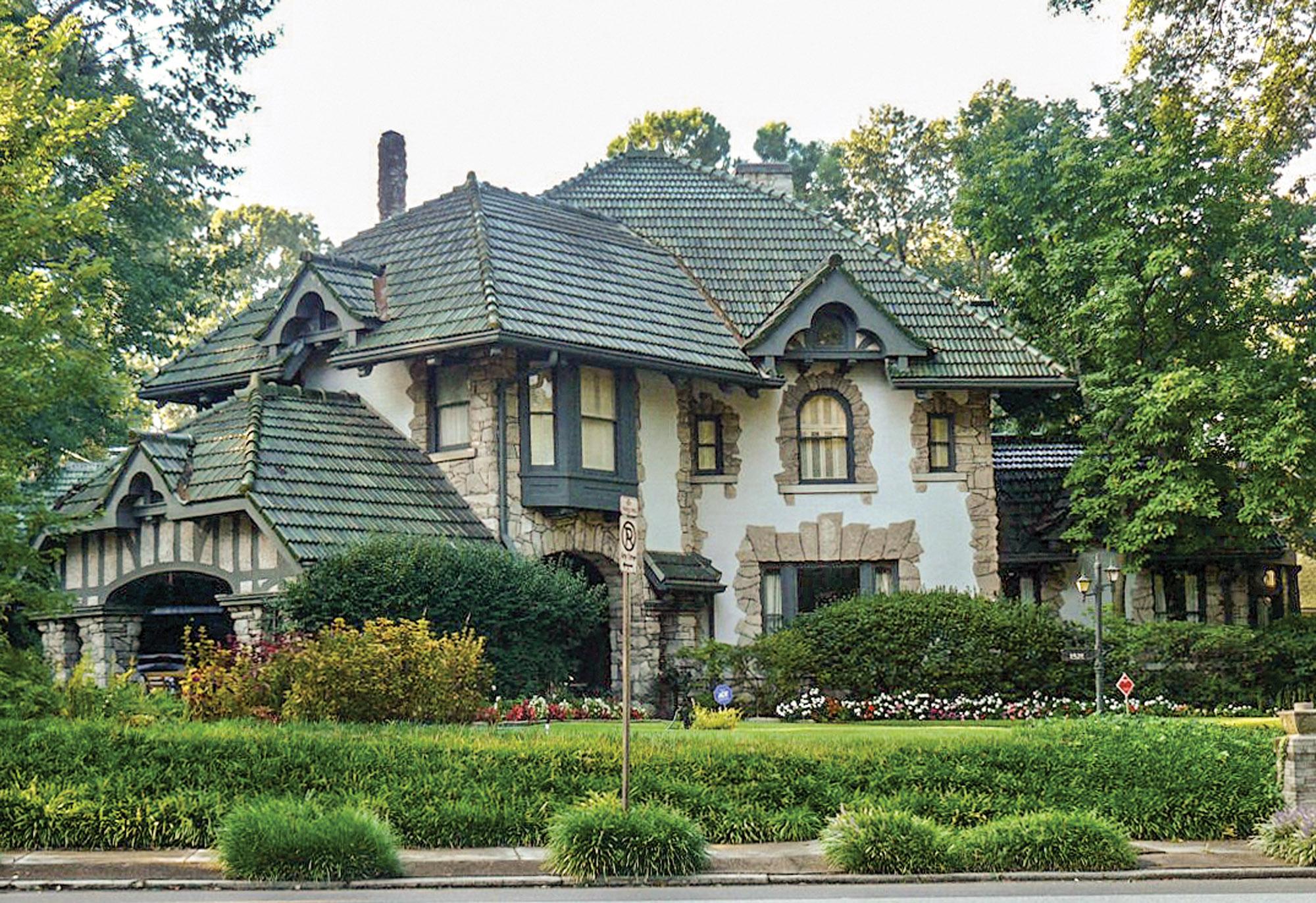 Memphis Storybook English-Tudor Home