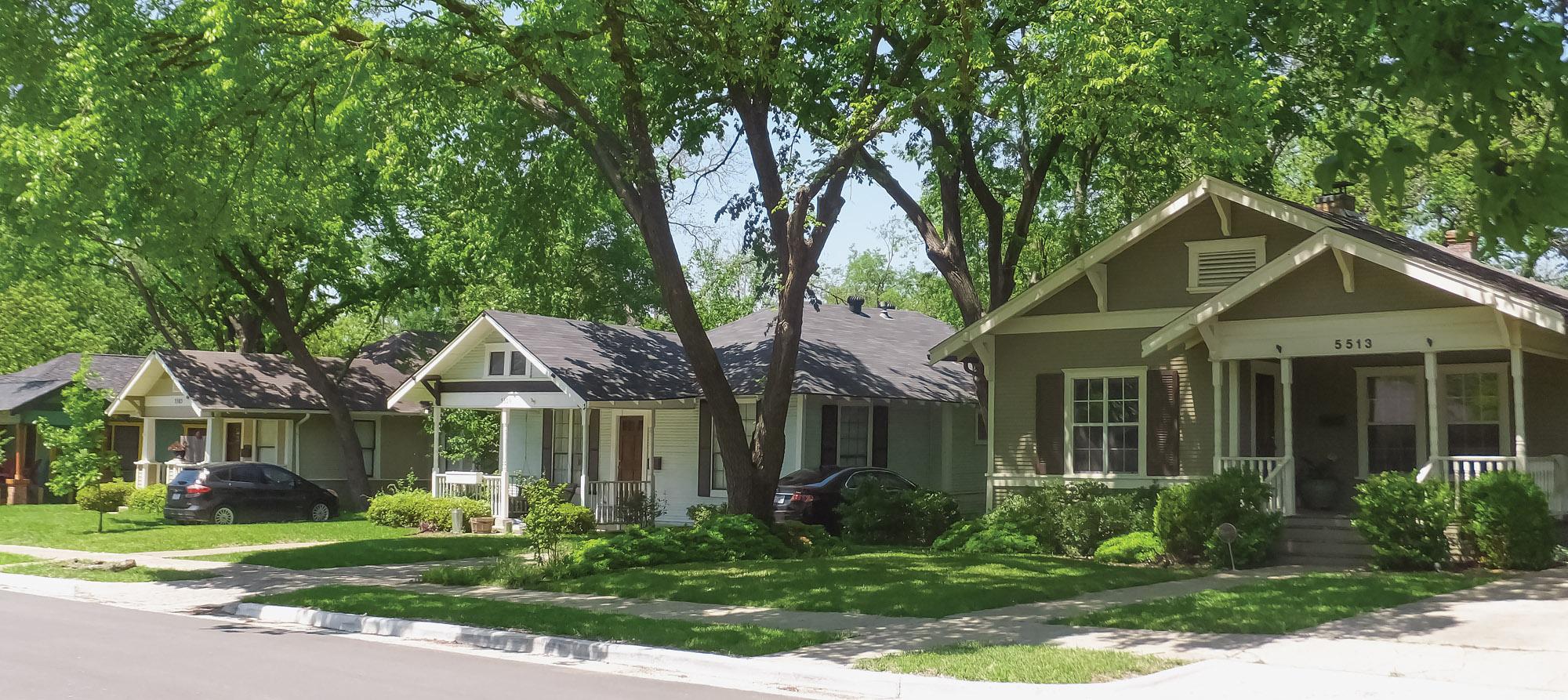 Texas Bungalow Neighborhoods