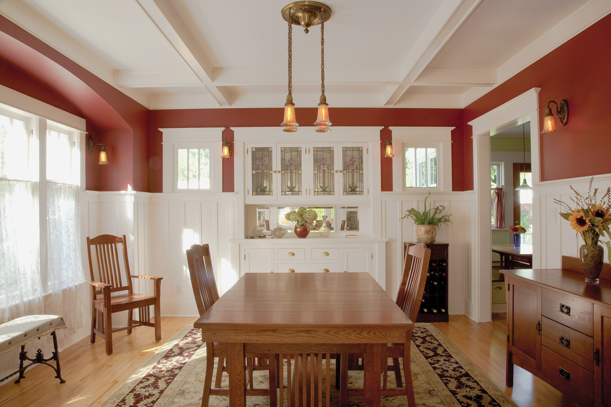 dining room built-in