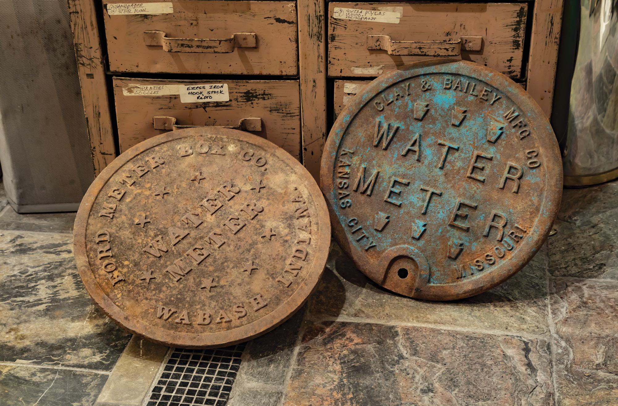 vintage meter covers