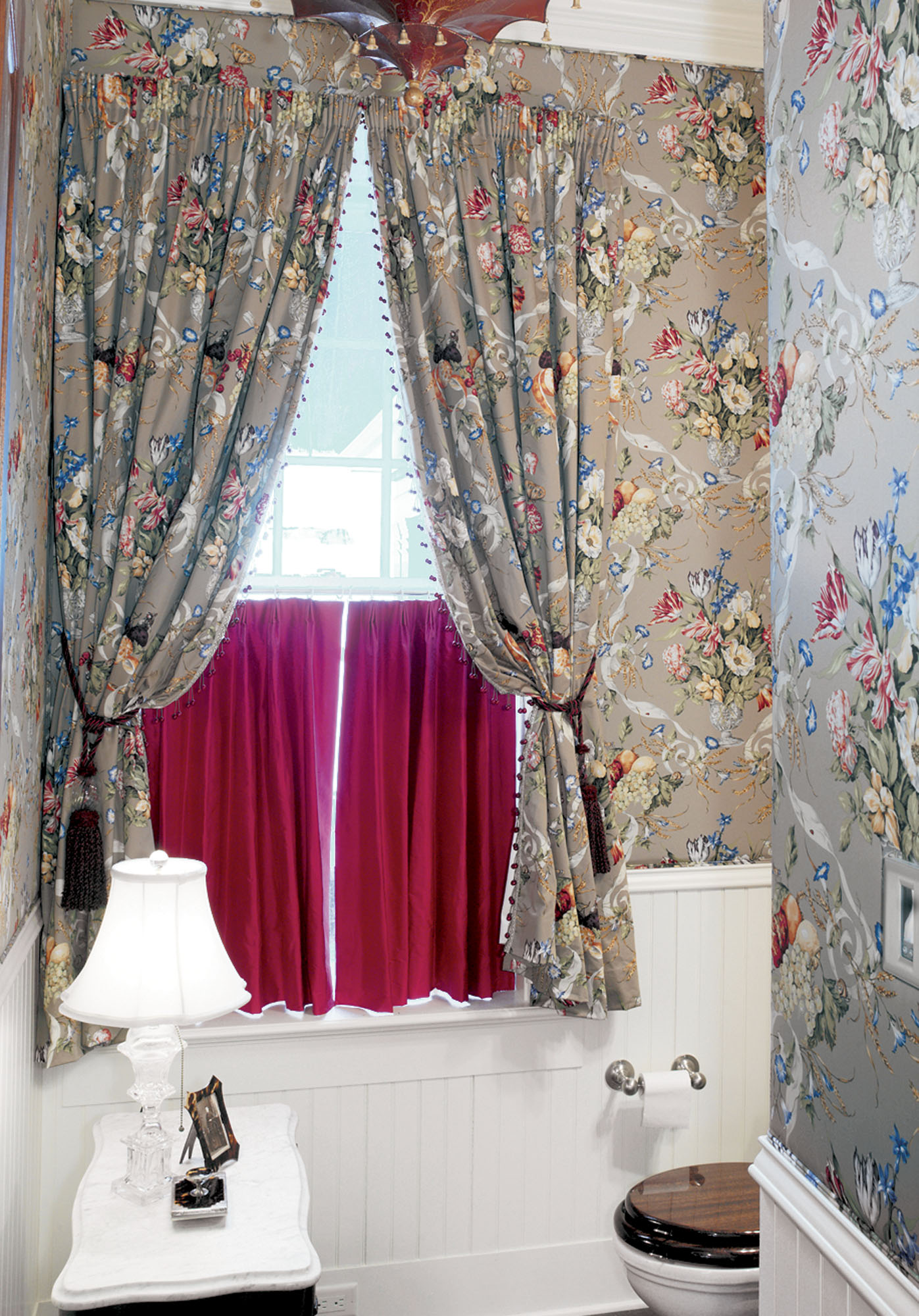 old-house powder room
