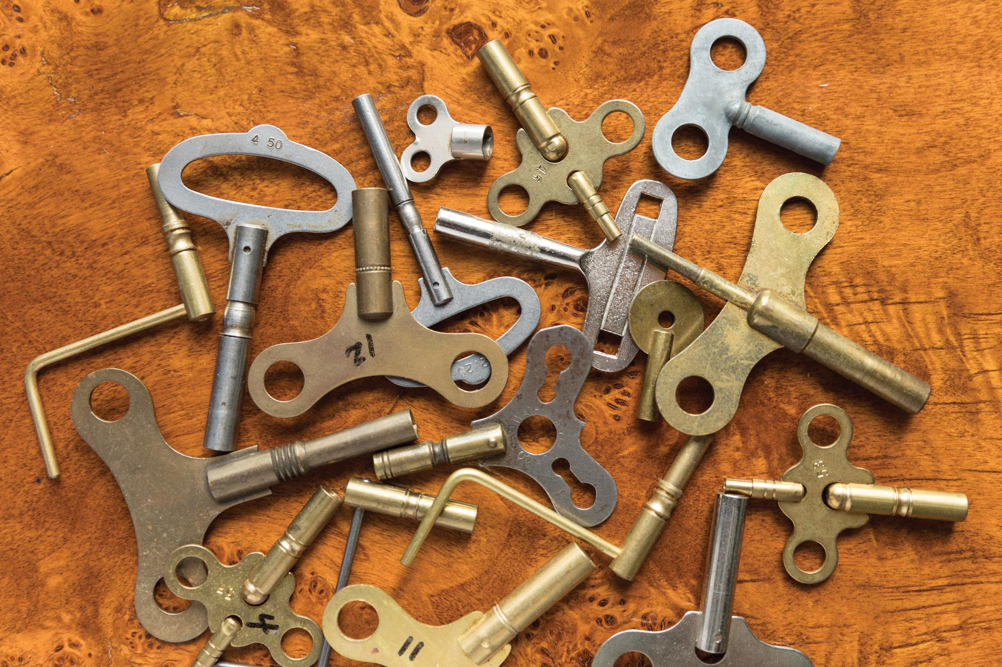 spare clock keys
