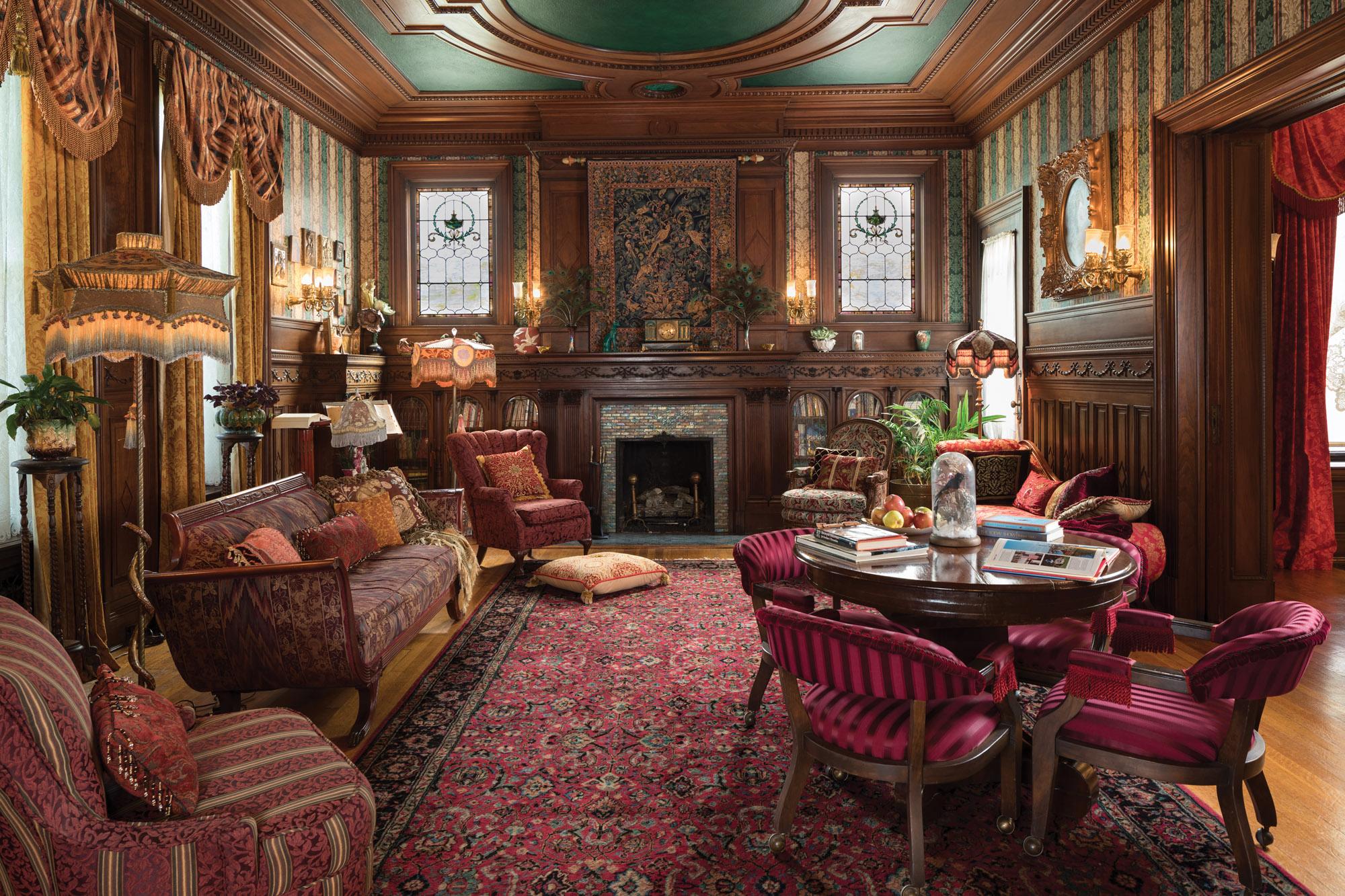 Restoration of a Beaux Arts Mansion