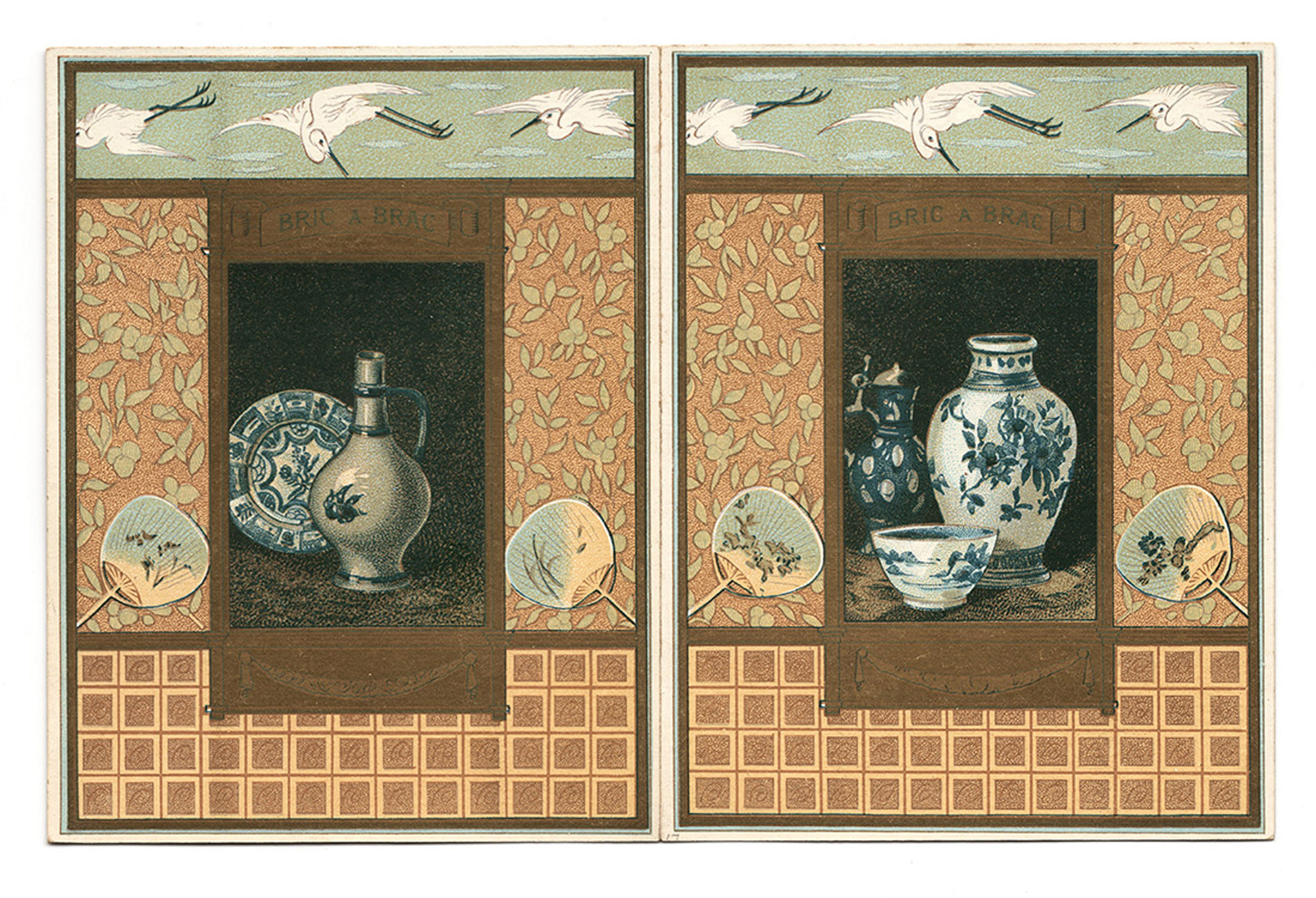 Japanese motifs.