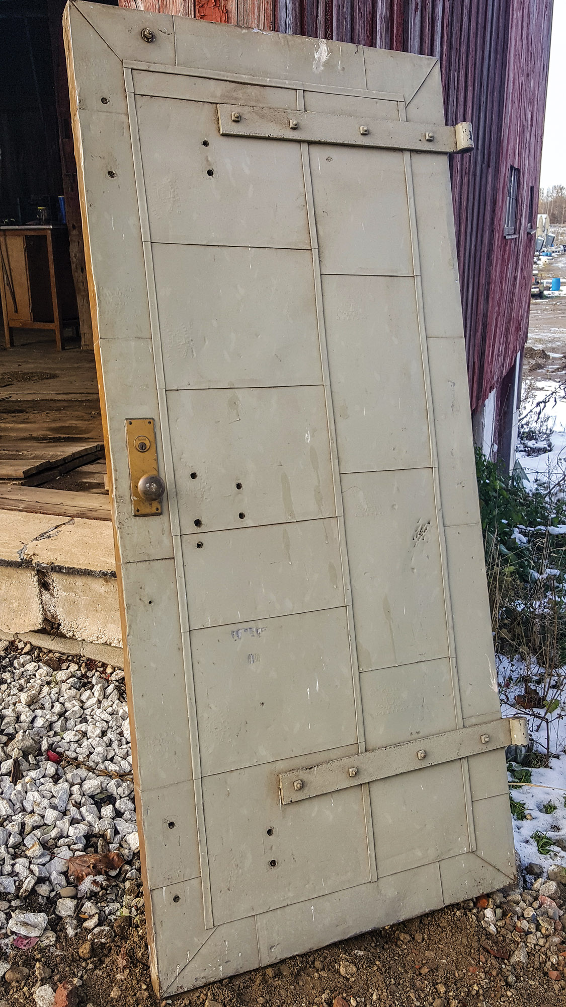 steel fire safety door