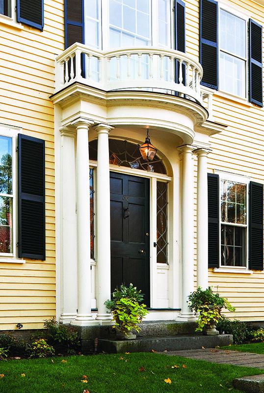 restored federal door