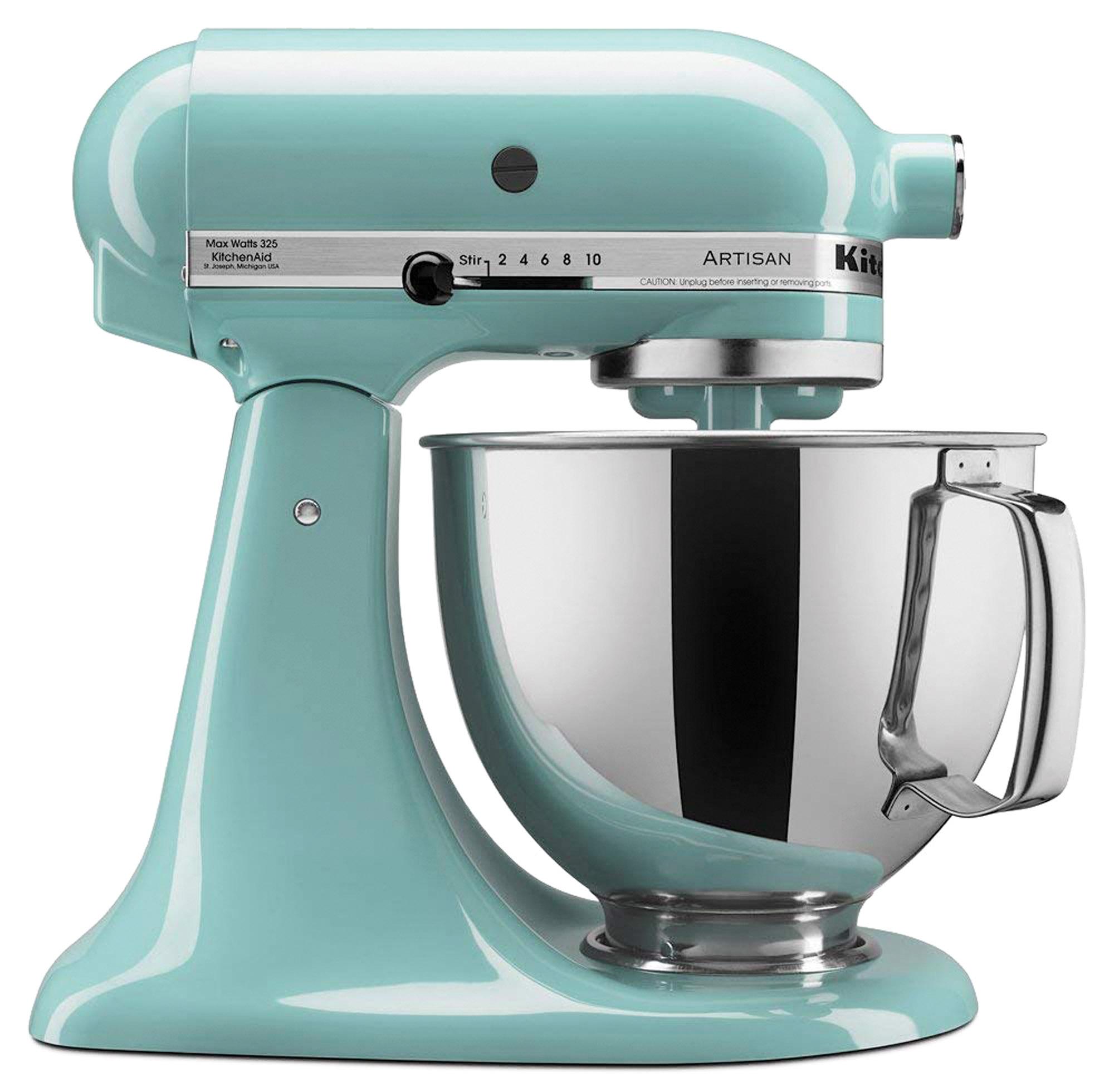 Aqua Sky kitchen aid mixer