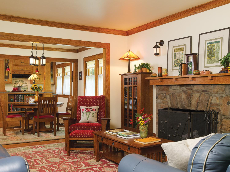 Sears Kit bungalow living room