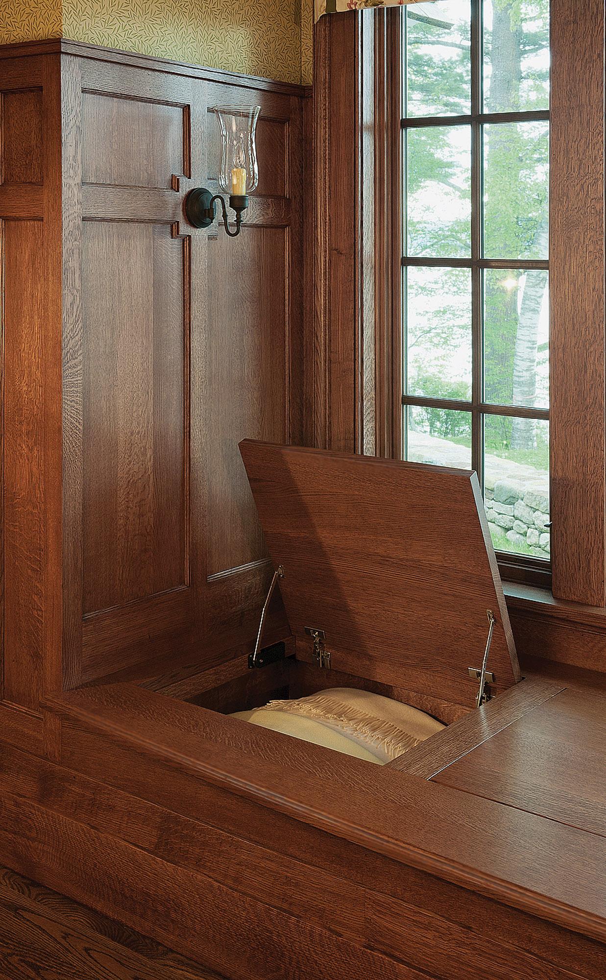 Crown Point window seat